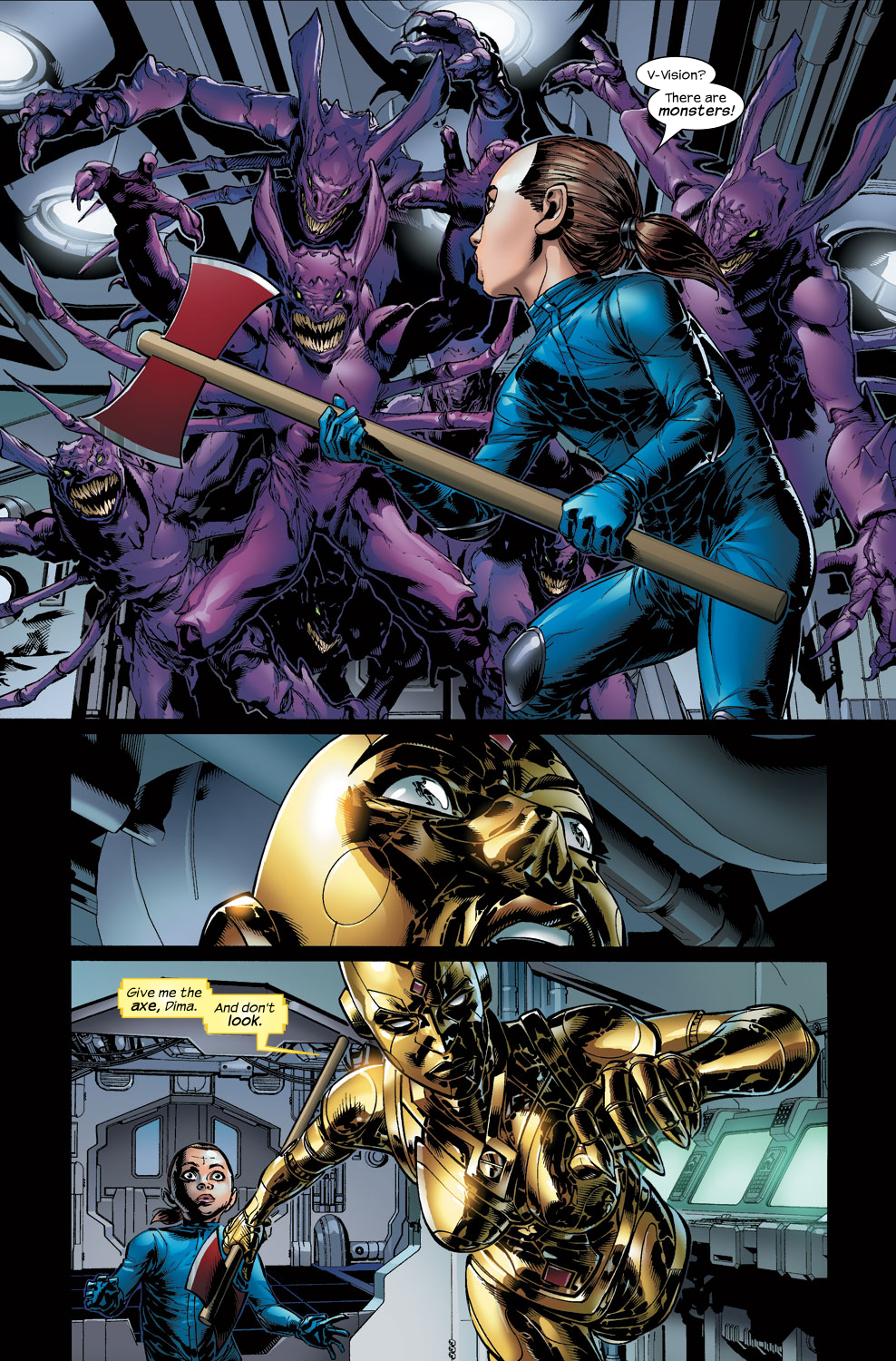 Read online Ultimate Vision comic -  Issue #3 - 12