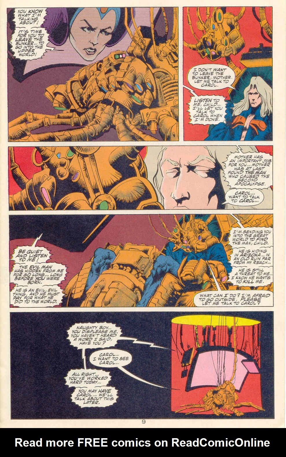 Read online Kamandi: At Earth's End comic -  Issue #1 - 10