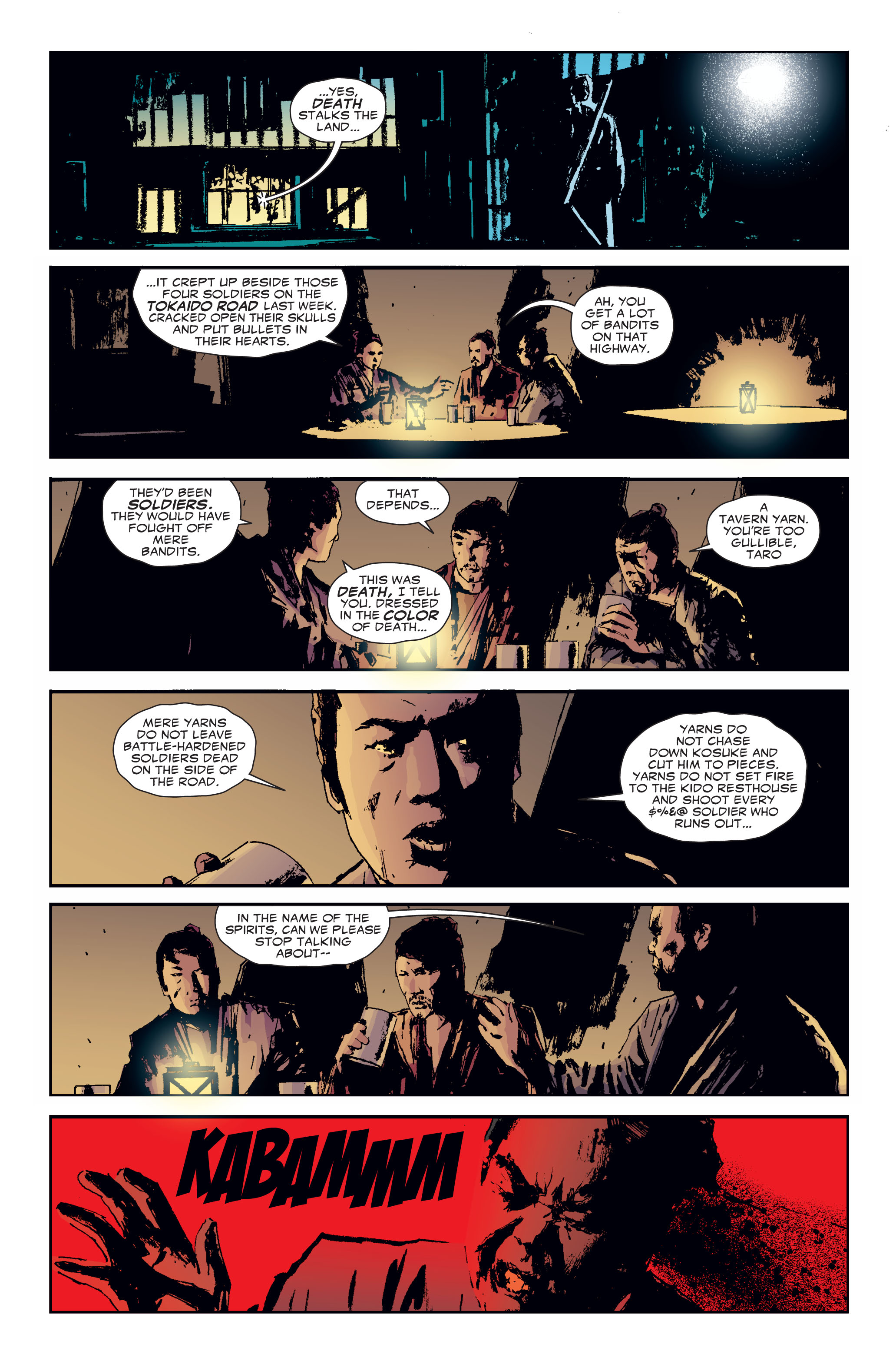 Read online 5 Ronin (2011) comic -  Issue #3 - 10