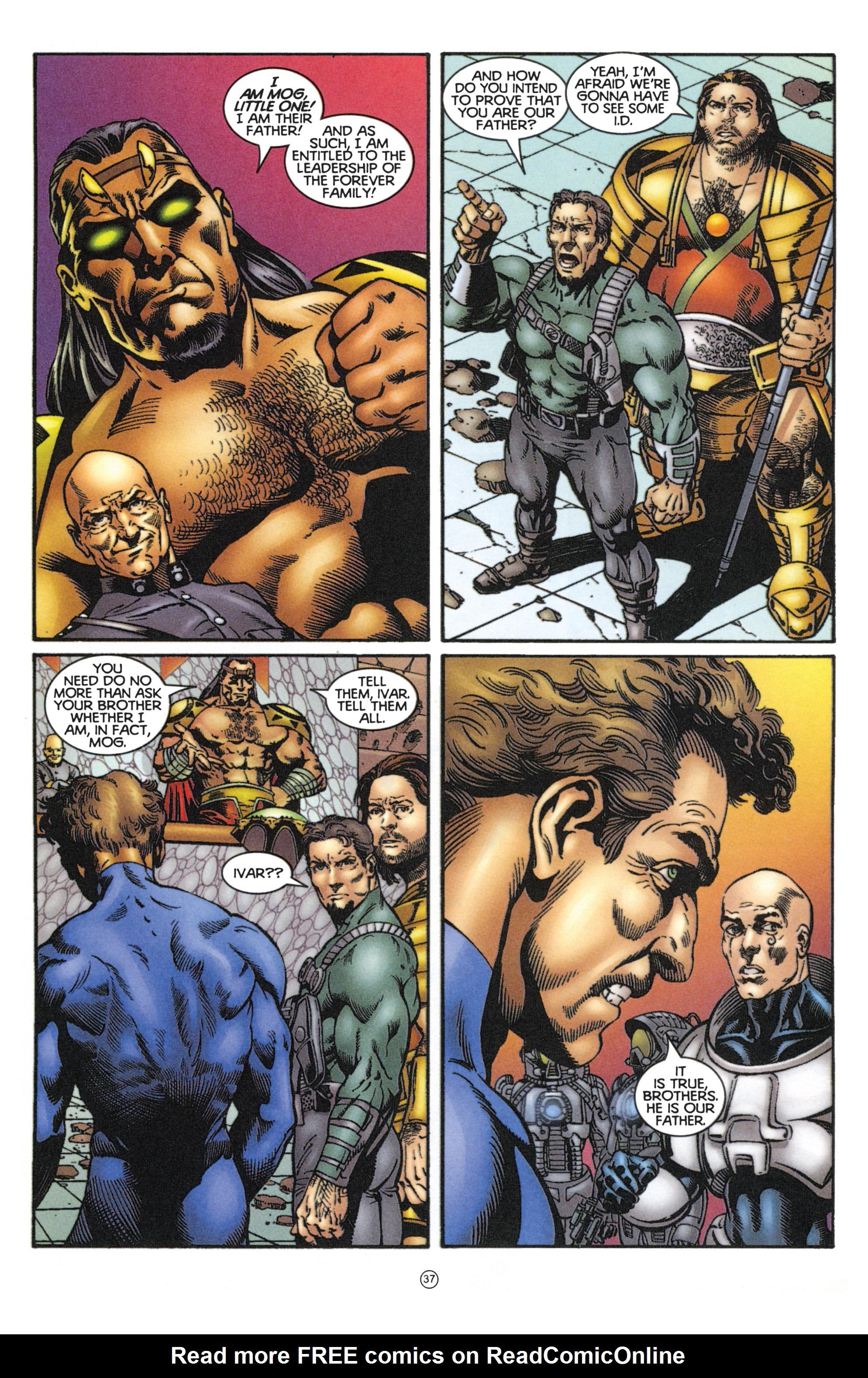 Read online Eternal Warriors comic -  Issue # Issue Mog - 32