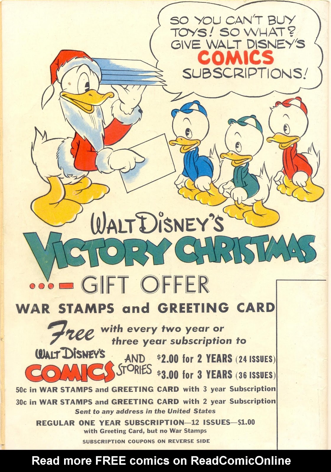 Walt Disney's Comics and Stories issue 40 - Page 60
