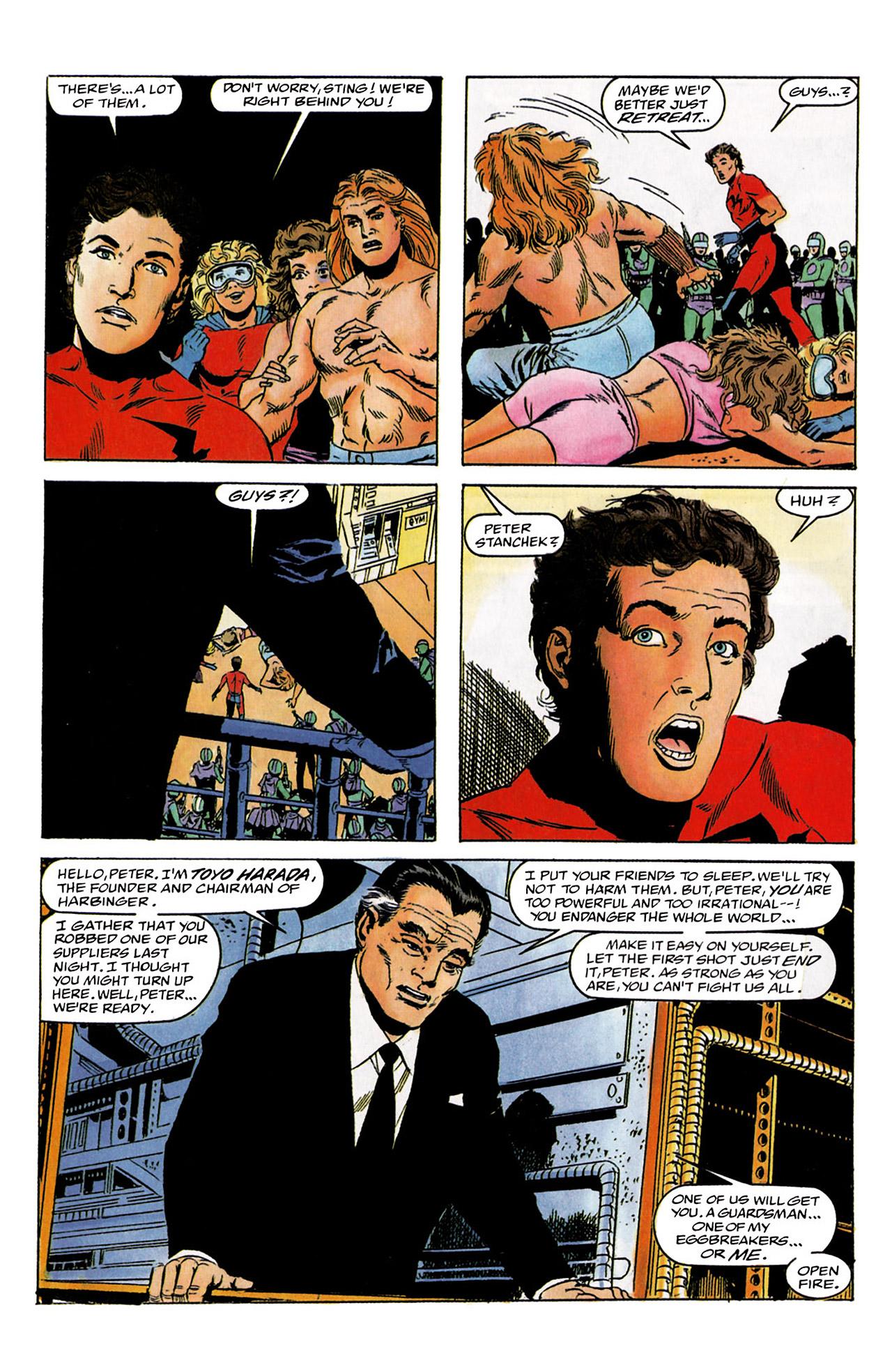 Read online Harbinger (1992) comic -  Issue #2 - 19