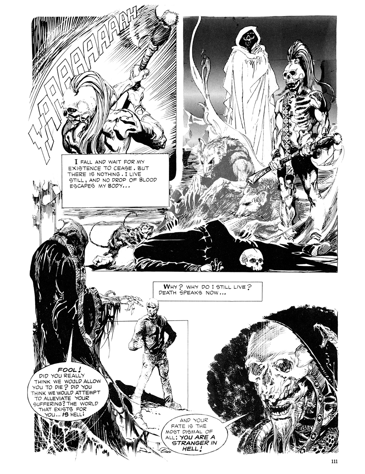 Read online Eerie Archives comic -  Issue # TPB 8 - 112