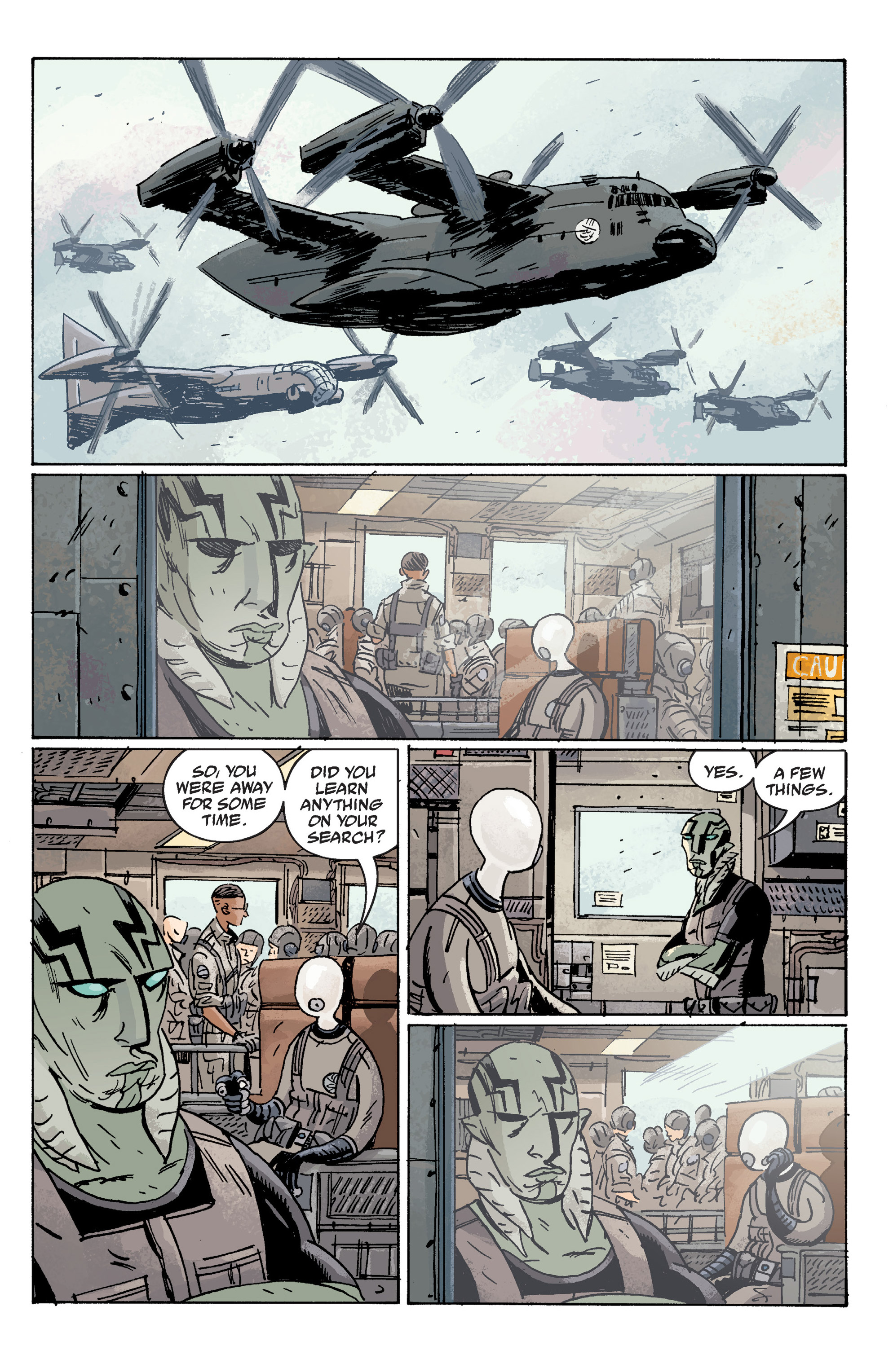 Read online B.P.R.D. (2003) comic -  Issue # TPB 10 - 49