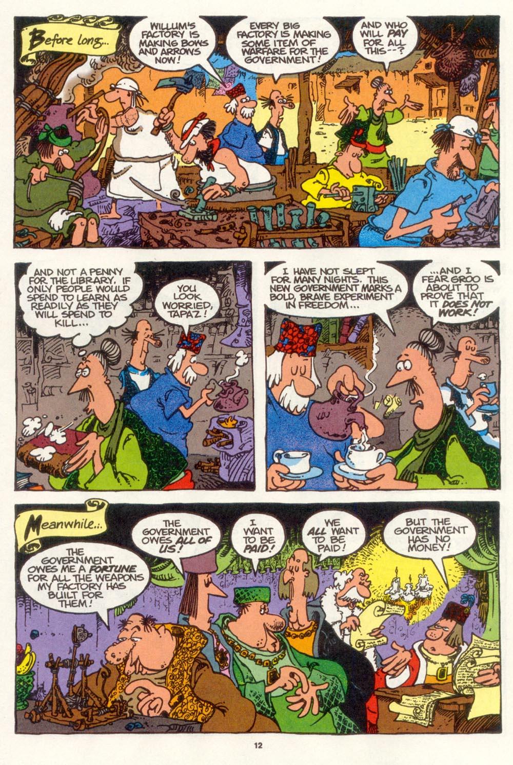 Read online Sergio Aragonés Groo the Wanderer comic -  Issue #109 - 14