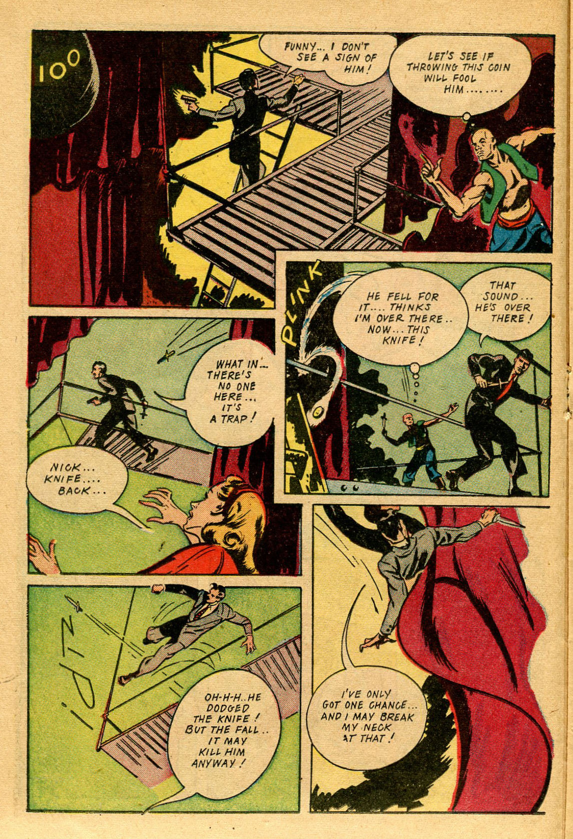 Read online Shadow Comics comic -  Issue #53 - 23