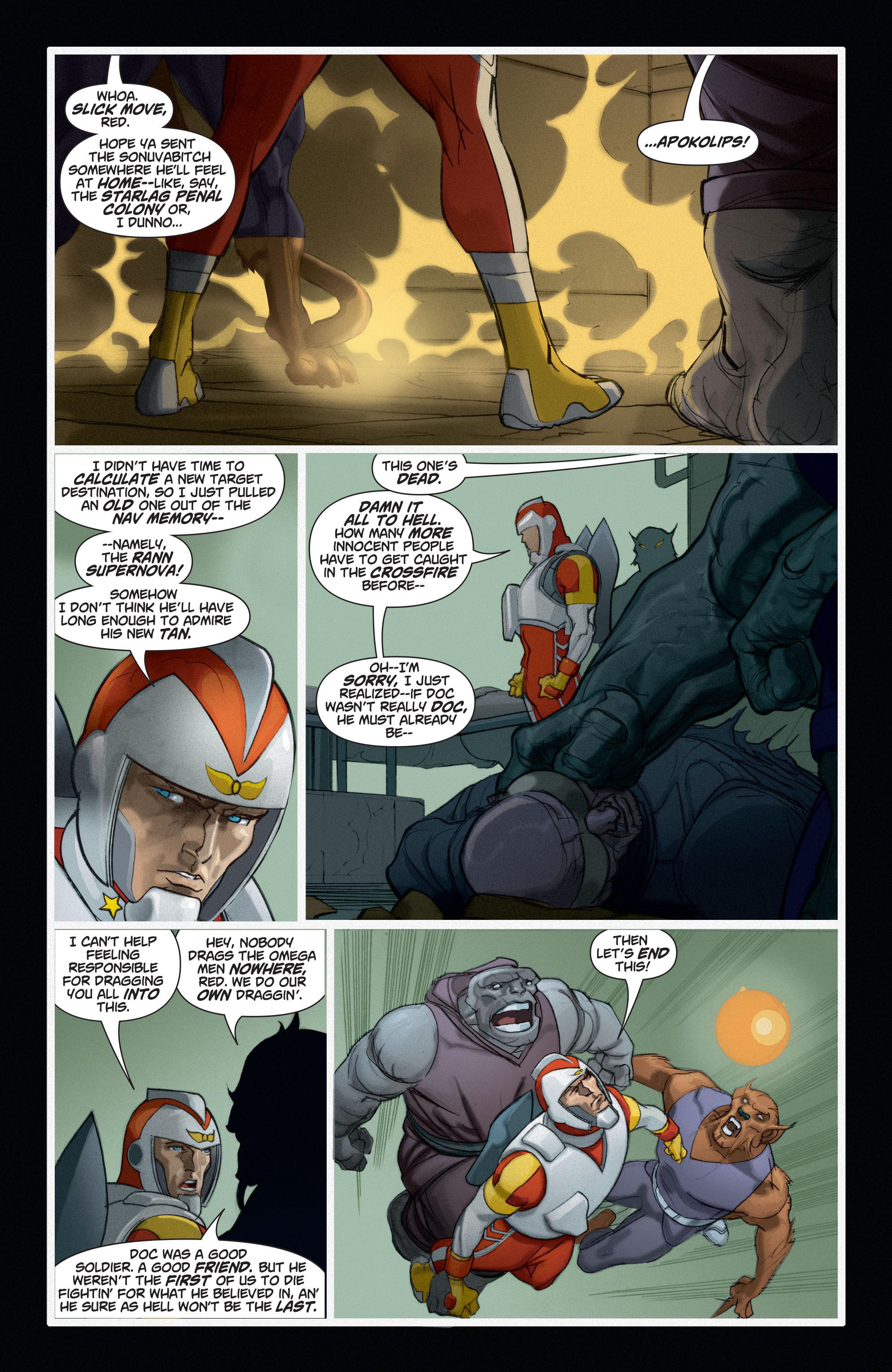 Read online Adam Strange (2004) comic -  Issue #6 - 11