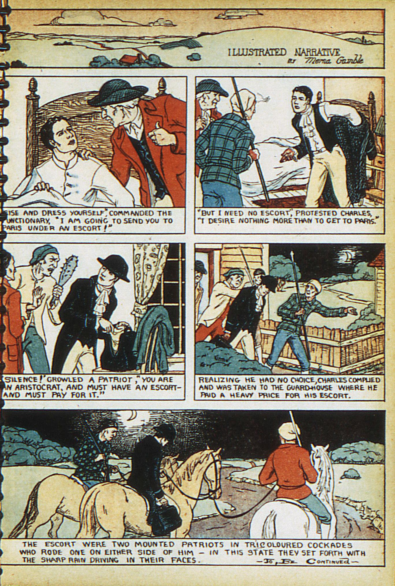 Read online Adventure Comics (1938) comic -  Issue #15 - 15