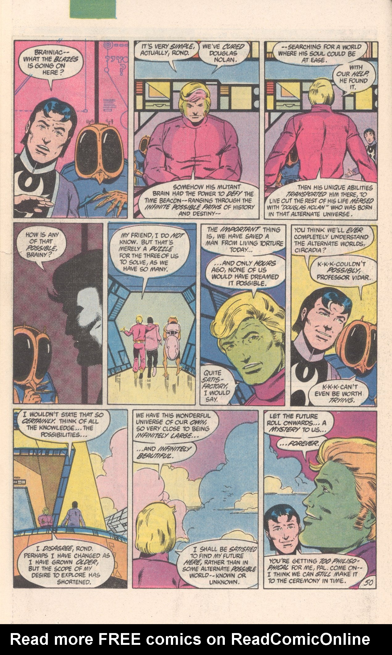 Legion of Super-Heroes (1980) 300 Page 50