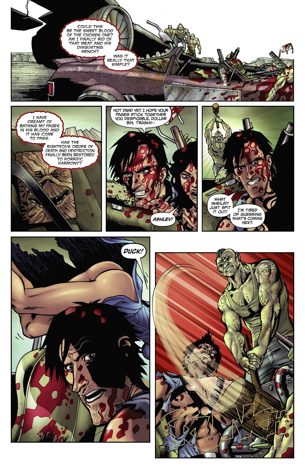 Army of Darkness: The Long Road Home issue TPB - Page 35