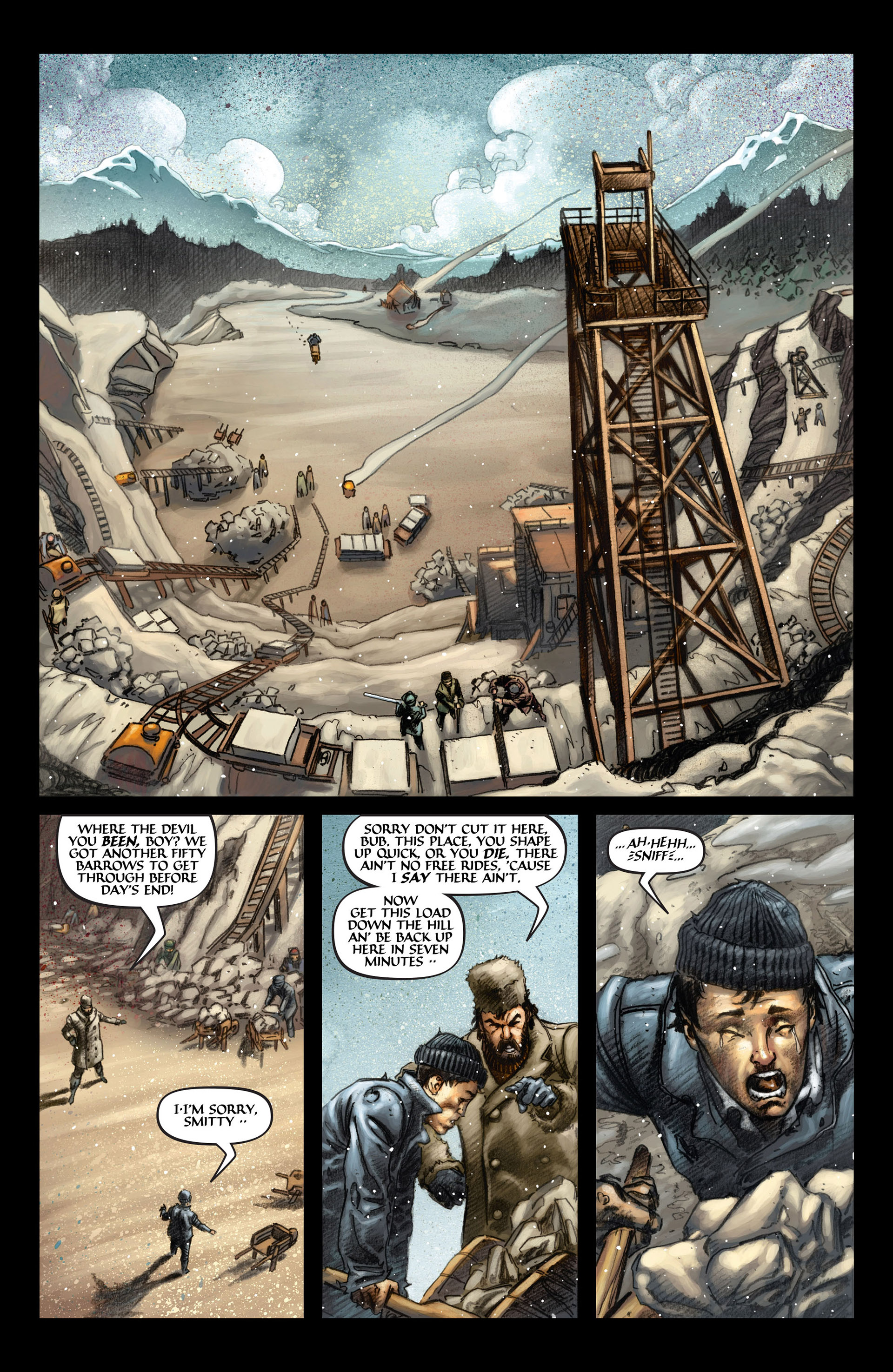 Read online Wolverine: The Origin comic -  Issue #4 - 4