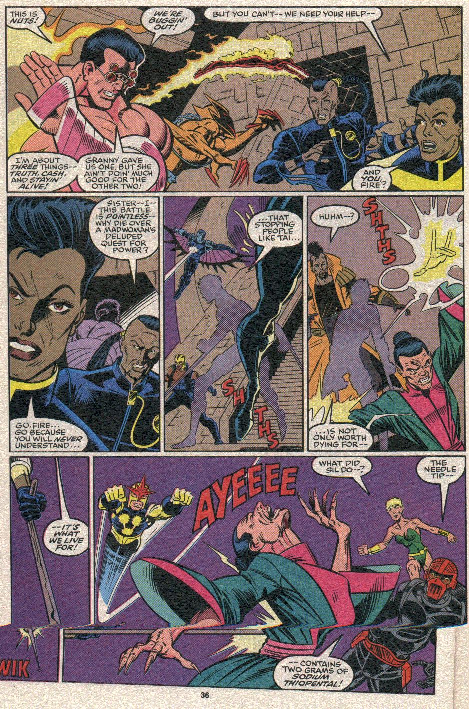The New Warriors Issue #25 #29 - English 32