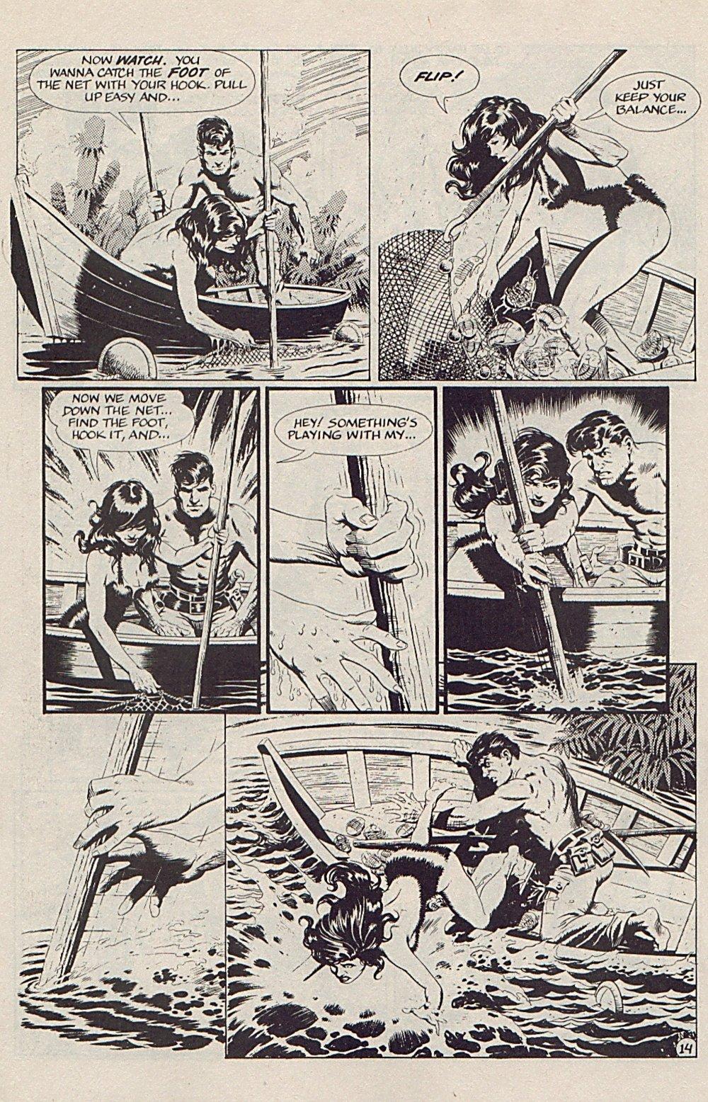 Read online Xenozoic Tales comic -  Issue #5 - 17