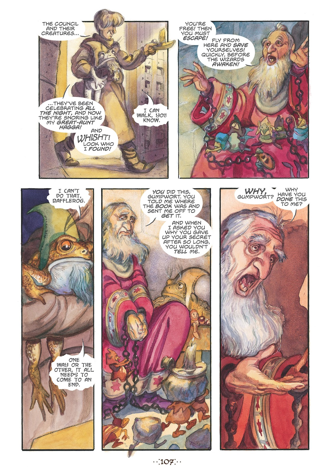 Read online The Wizard's Tale comic -  Issue # TPB - 102