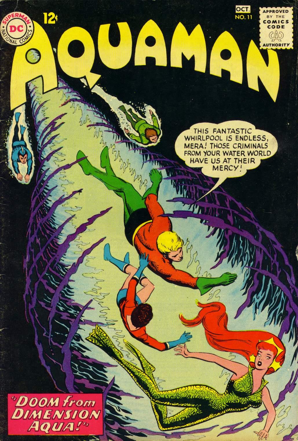 Read online Aquaman (1962) comic -  Issue #11 - 1