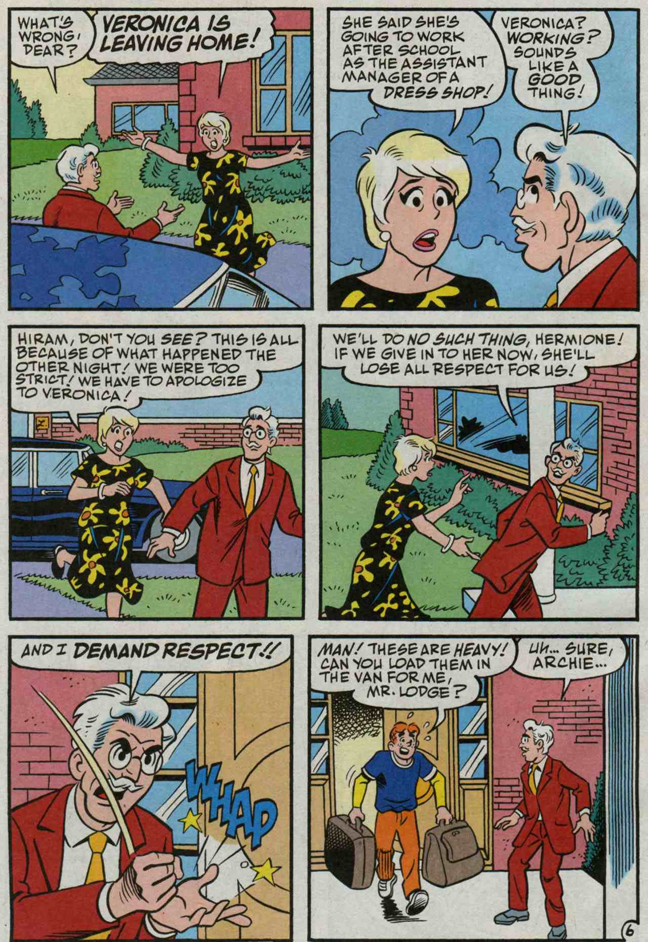 Read online Archie's Girls Betty and Veronica comic -  Issue #235 - 7