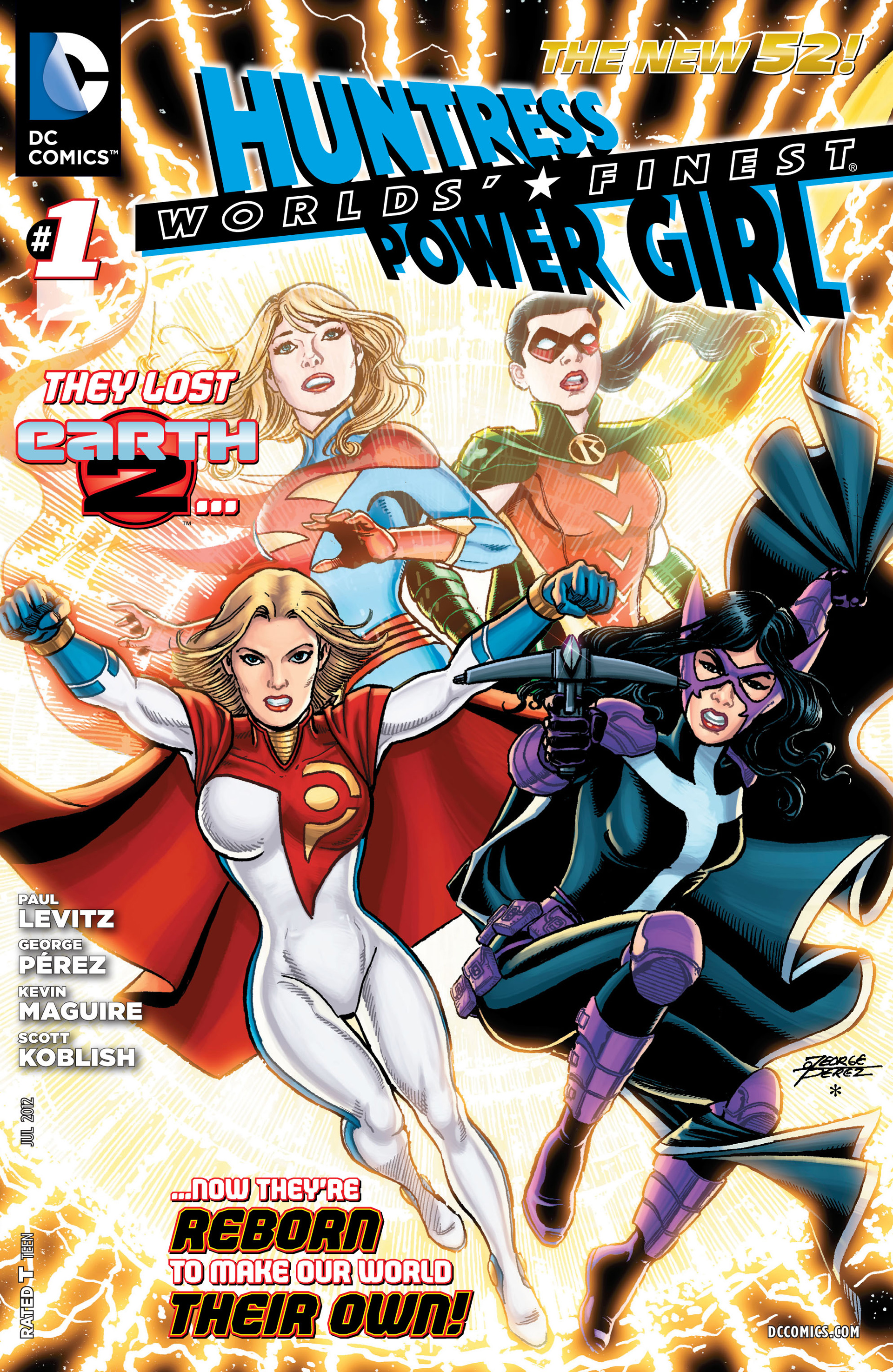 Read online Worlds' Finest comic -  Issue #1 - 1