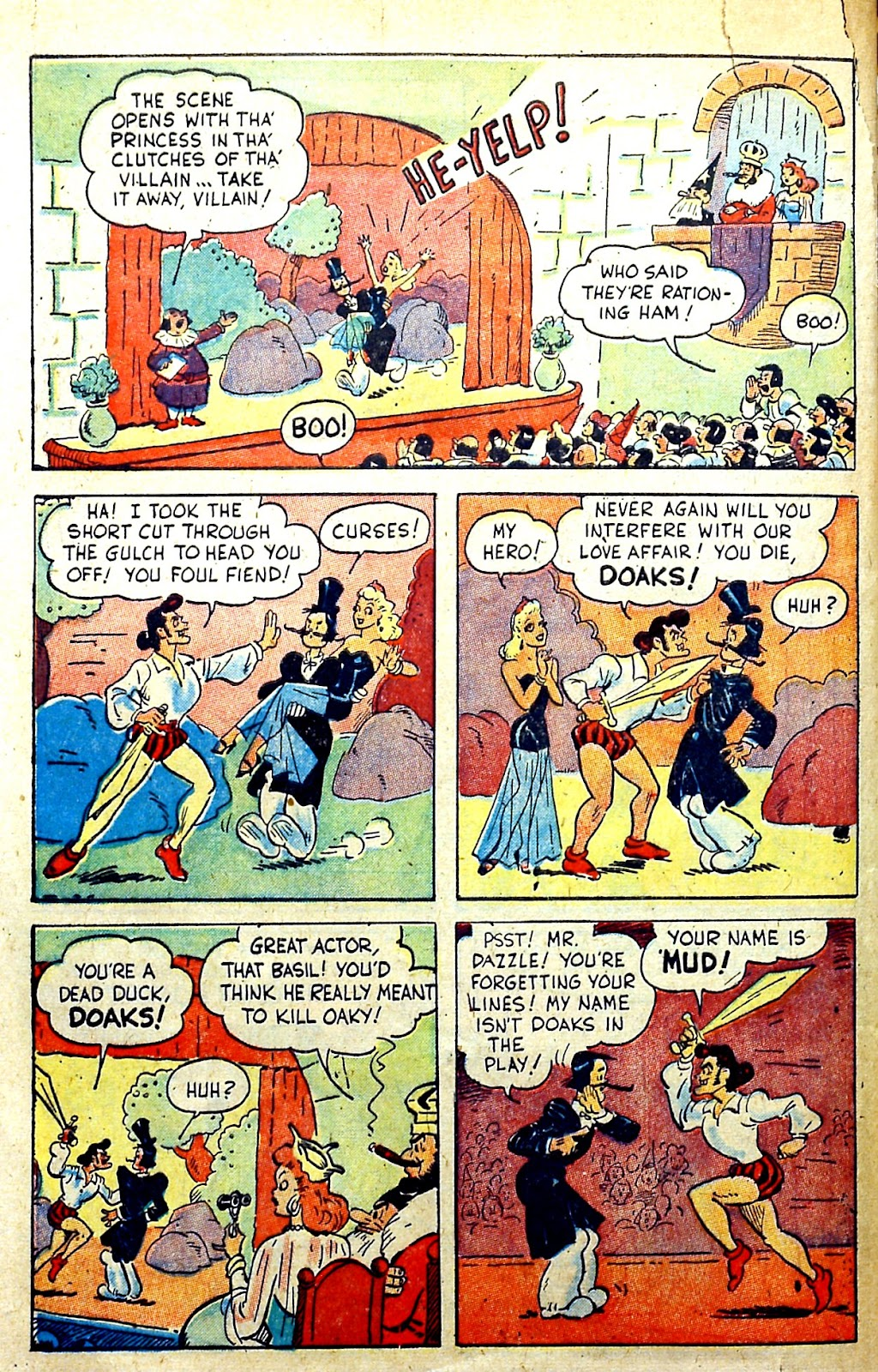 Read online Famous Funnies comic -  Issue #145 - 46