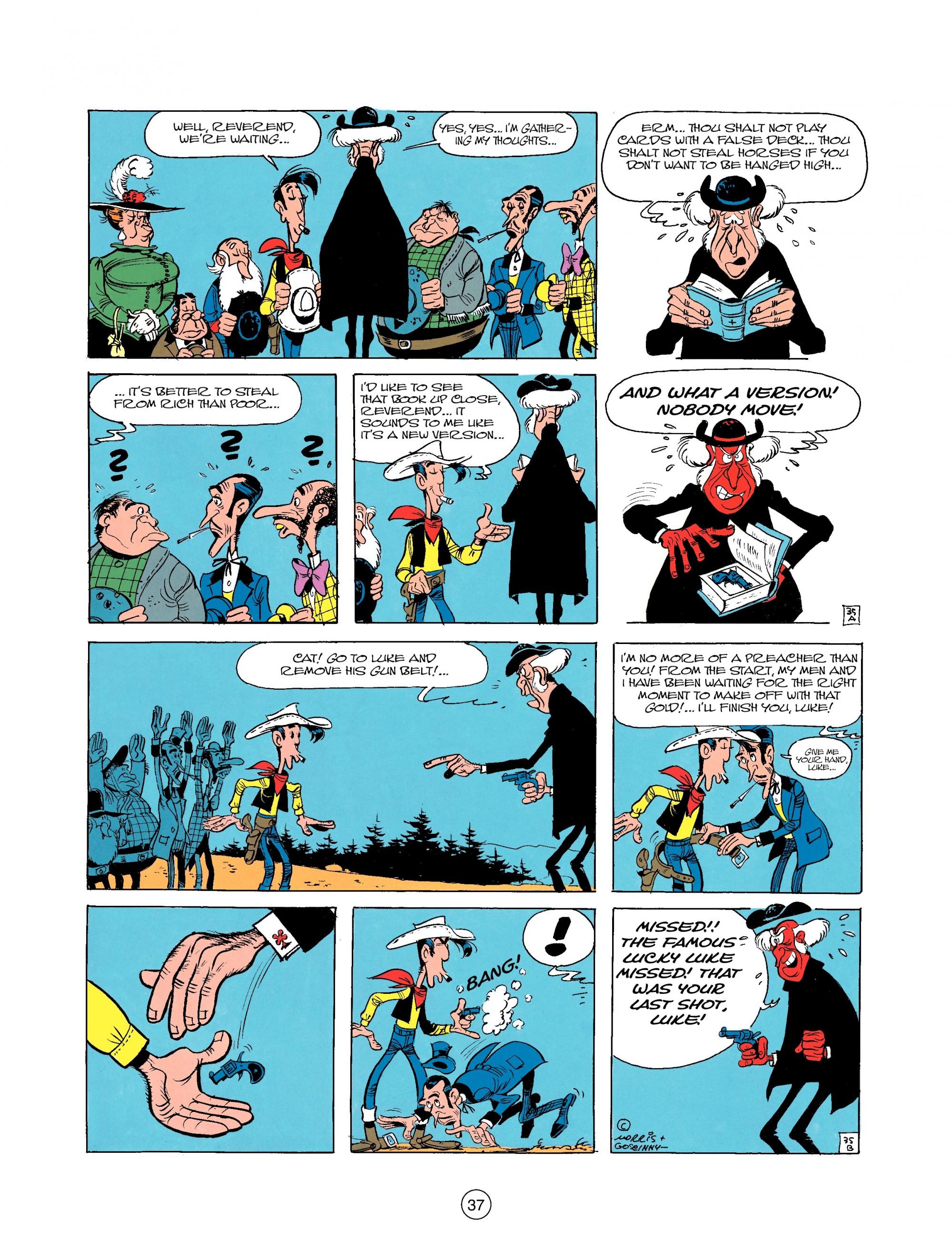 Read online A Lucky Luke Adventure comic -  Issue #25 - 37