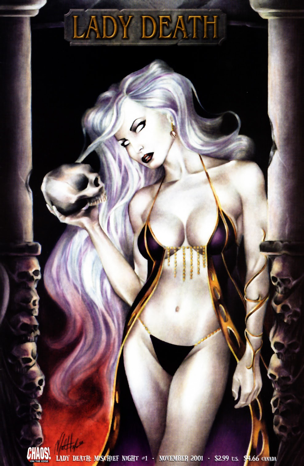 Lady Death: Mischief Night issue Full - Page 1