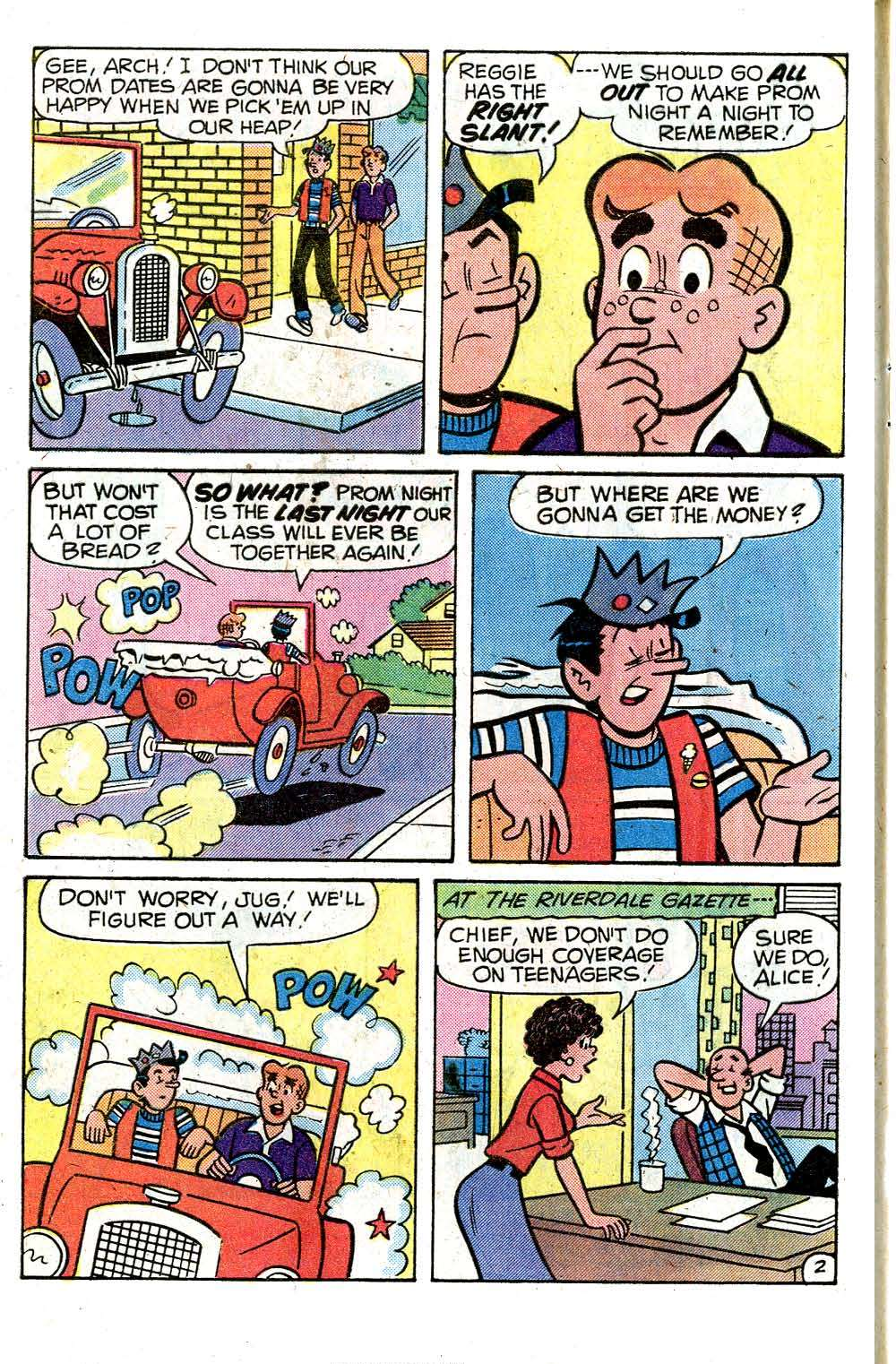 Read online Archie (1960) comic -  Issue #284 - 4