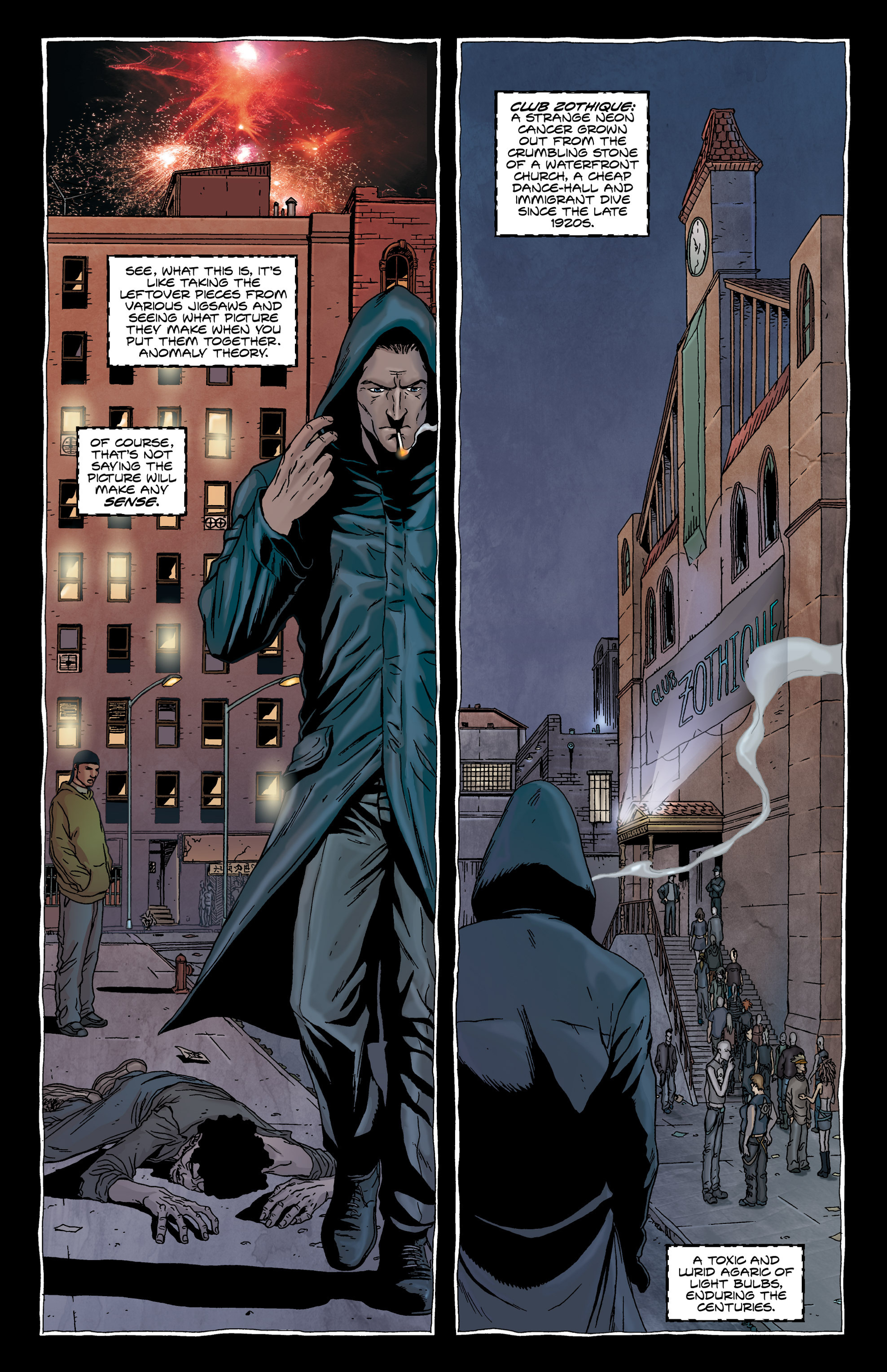 Read online Alan Moore's The Courtyard comic -  Issue # TPB - 18