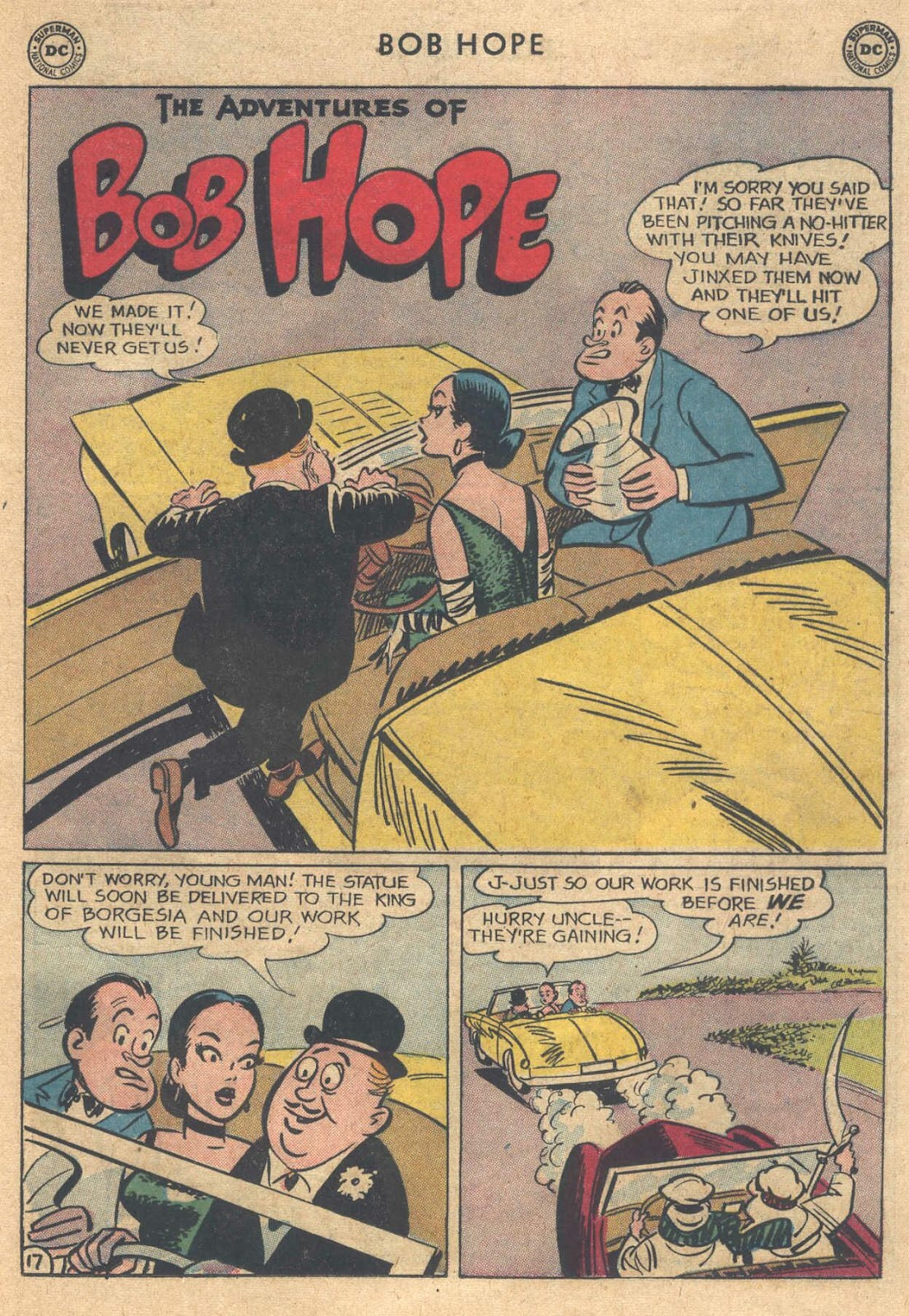 The Adventures of Bob Hope issue 76 - Page 23