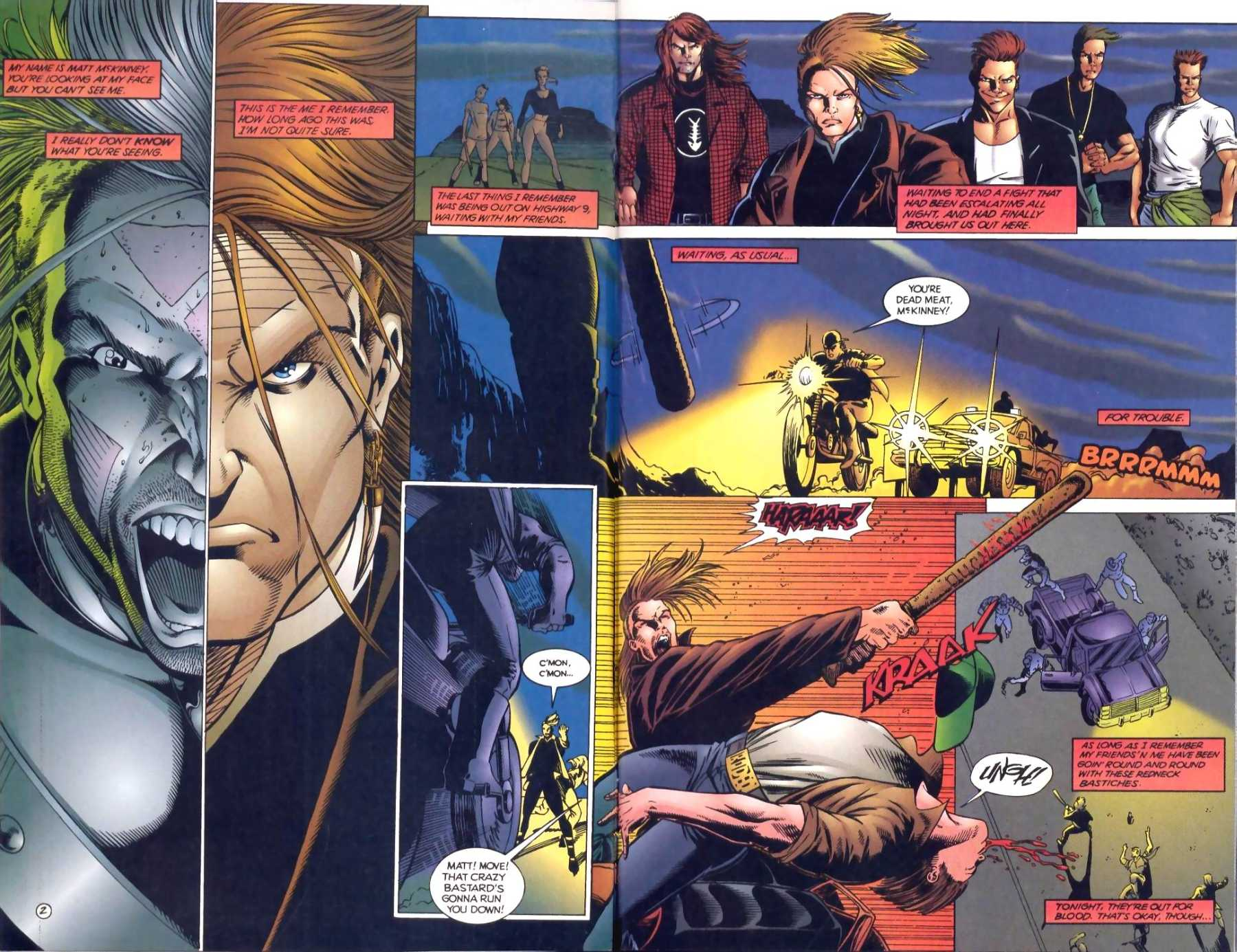 Read online Ultraverse Premiere comic -  Issue #1 - 3