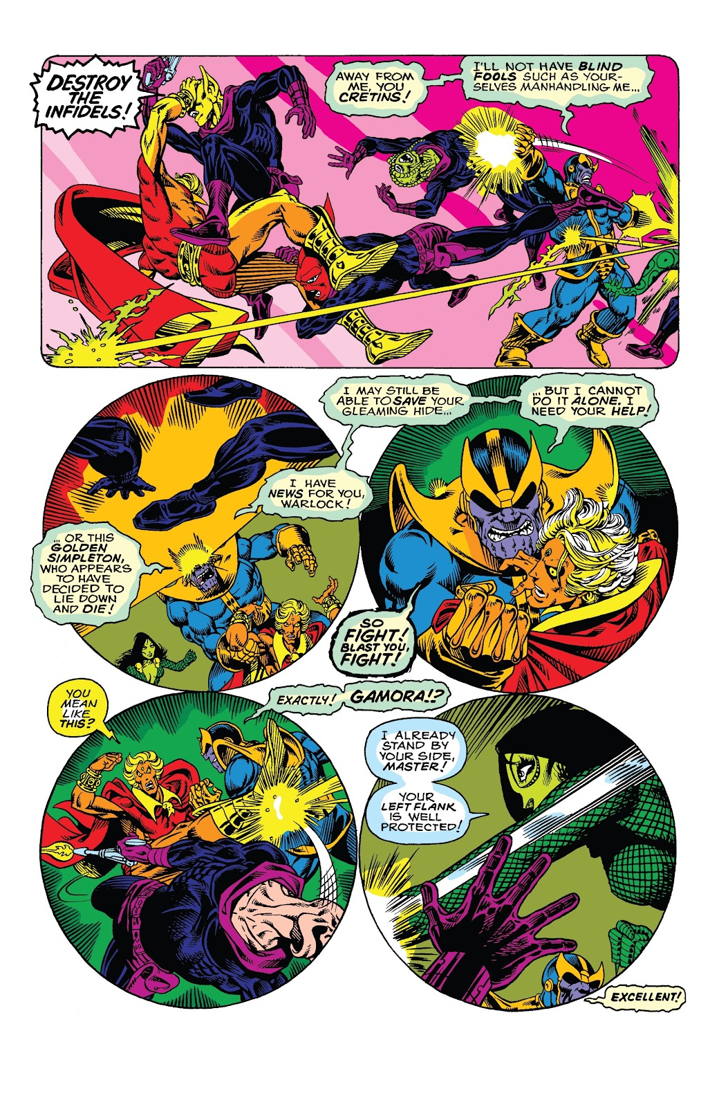 Read online Marvel Tales: Thanos comic -  Issue # Full - 7