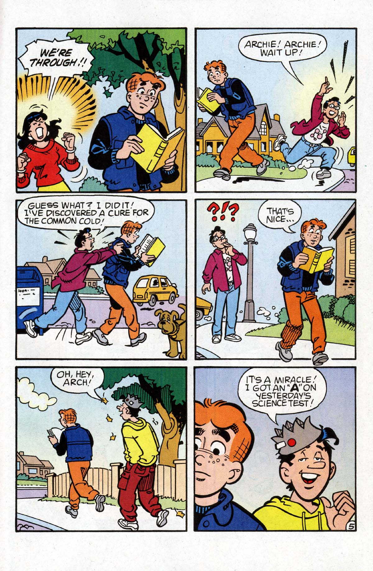 Read online Archie (1960) comic -  Issue #528 - 19