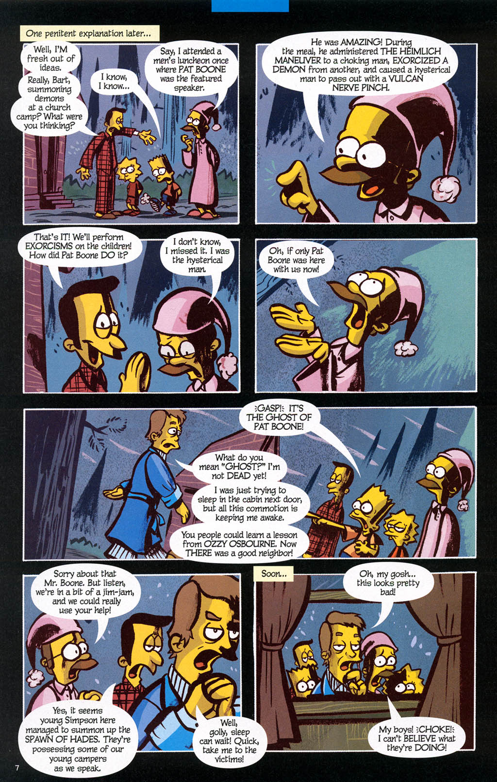 Read online Treehouse of Horror comic -  Issue #10 - 47