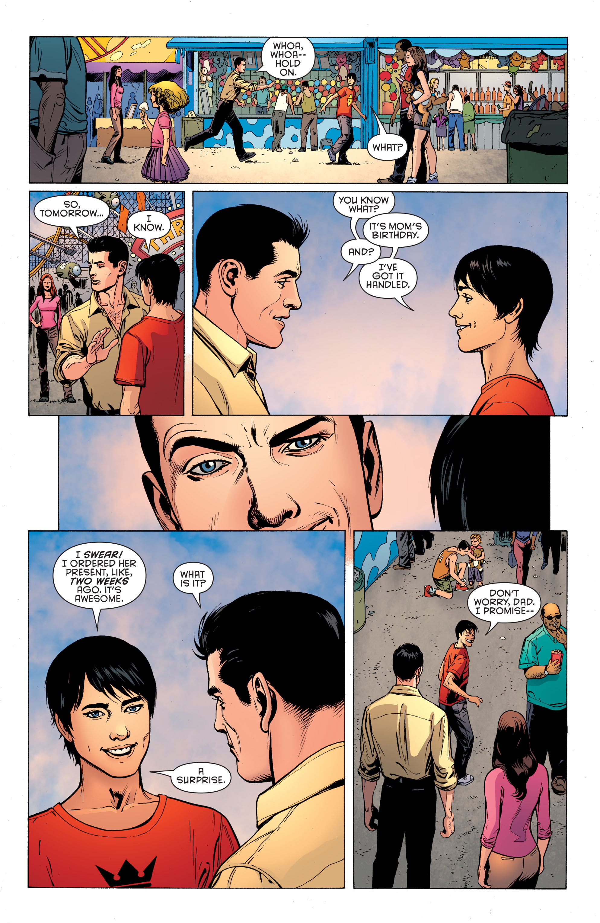 Read online Secret Origins (2014) comic -  Issue #1 - 15