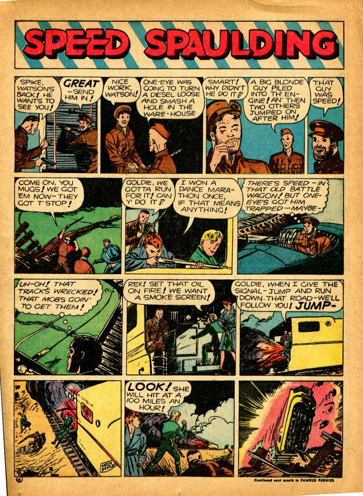 Read online Famous Funnies comic -  Issue #84 - 25