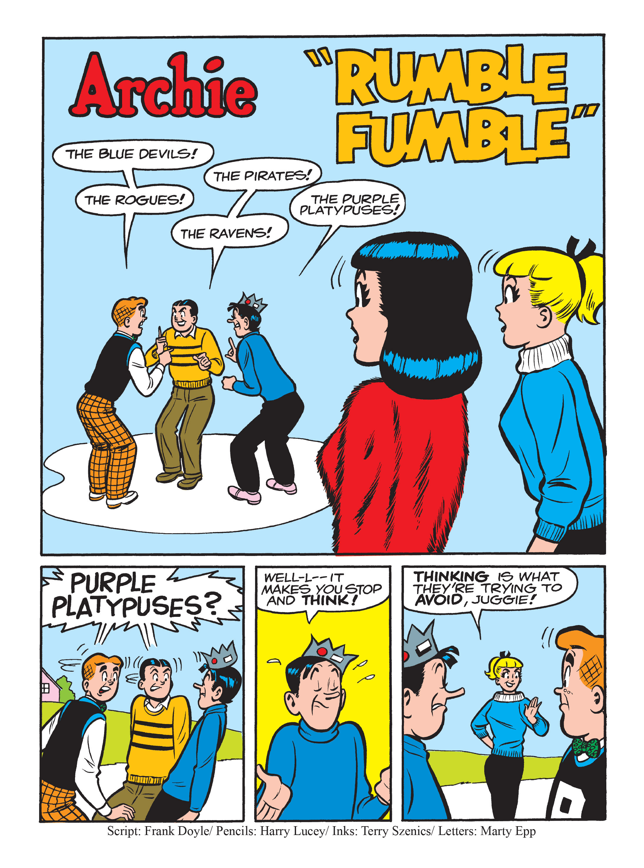 Read online Archie 75th Anniversary Digest comic -  Issue #3 - 84