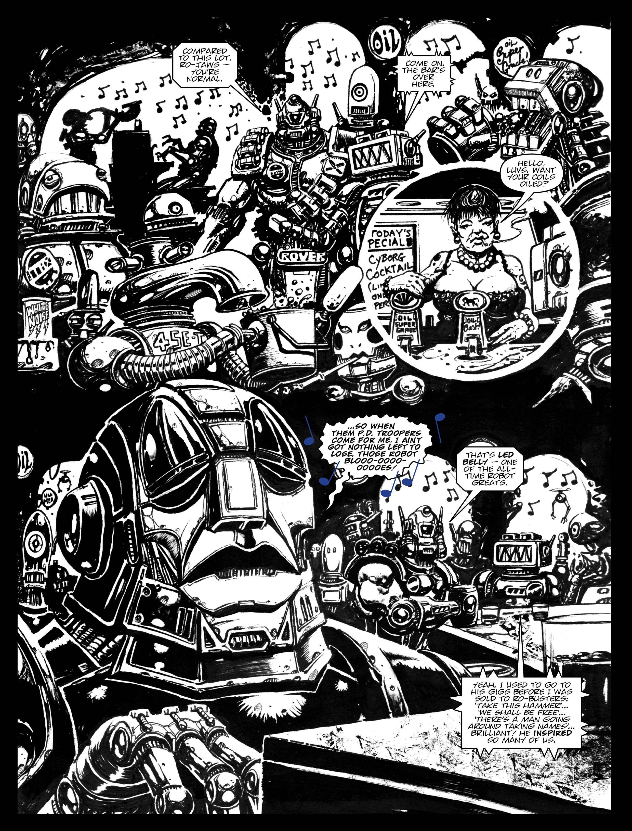 Read online 2000 AD comic -  Issue #1967 - 18
