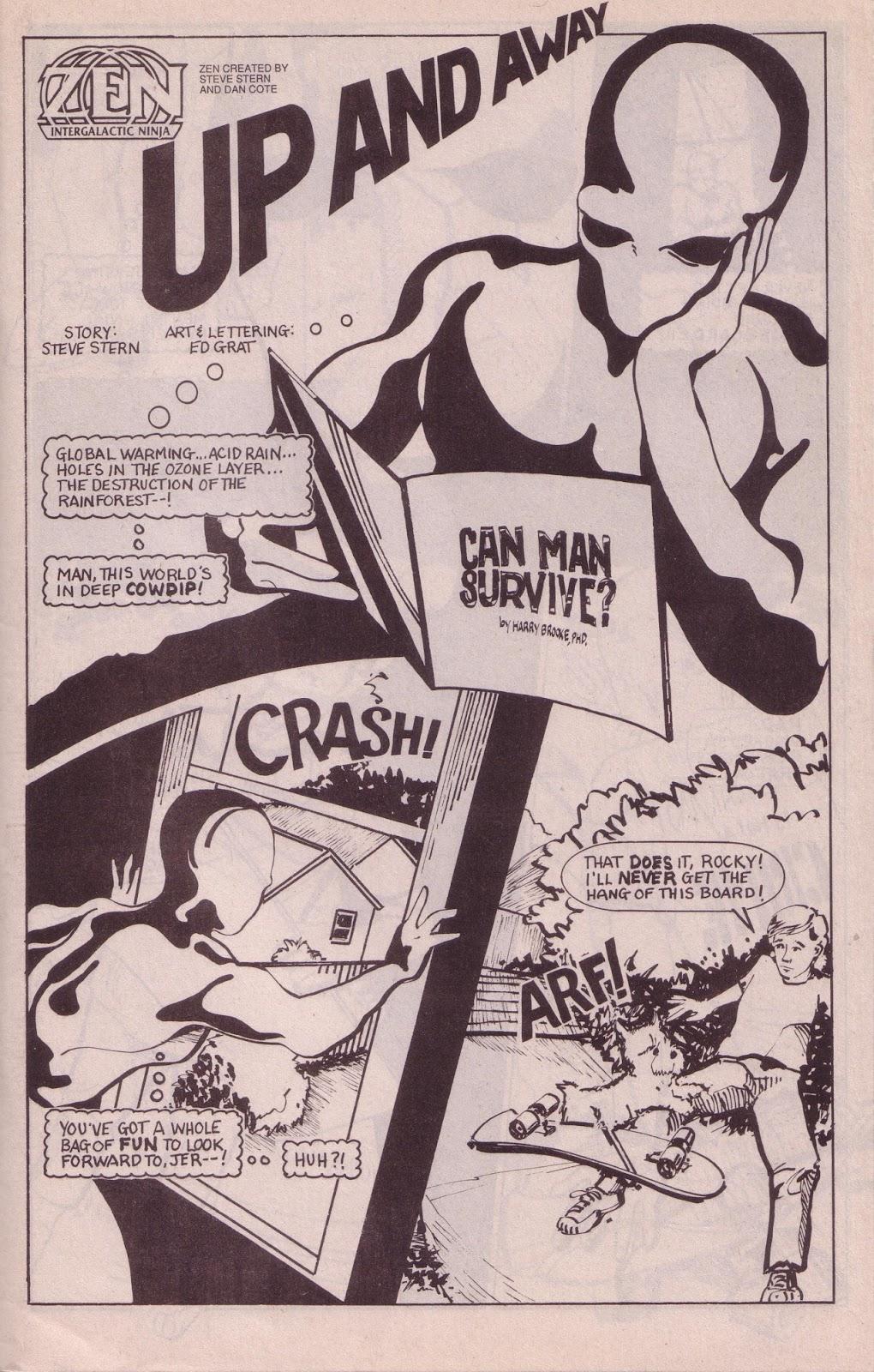 Zen Intergalactic Ninja (1989) 3 Page 3