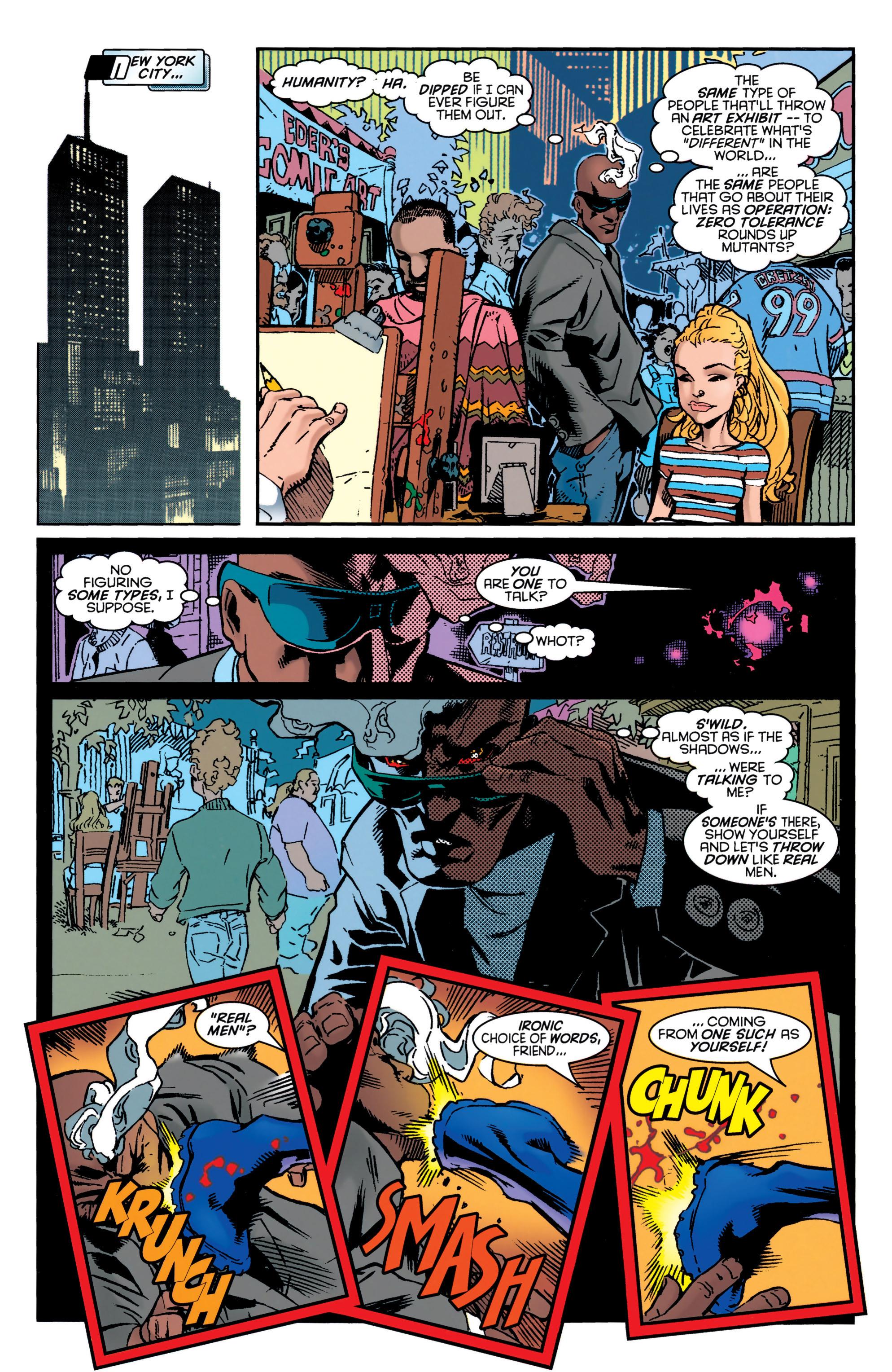 Read online Uncanny X-Men (1963) comic -  Issue #349 - 9