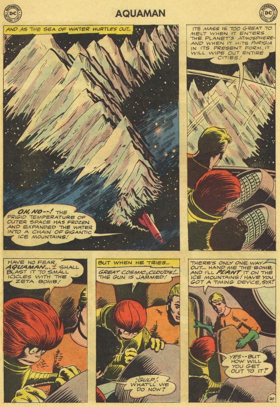 Read online Aquaman (1962) comic -  Issue #8 - 26