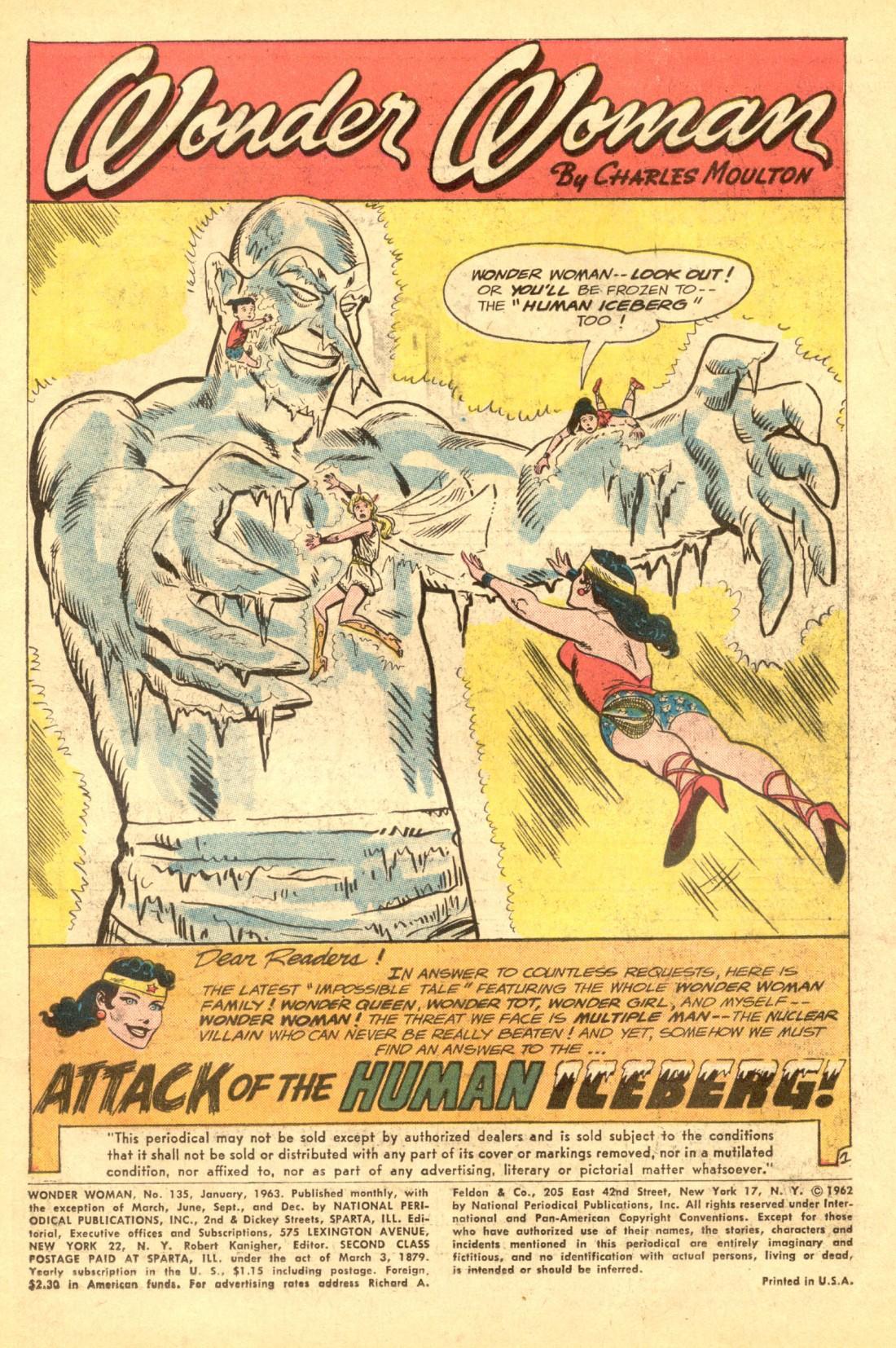 Read online Wonder Woman (1942) comic -  Issue #135 - 3