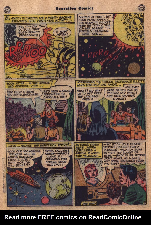 Read online Sensation (Mystery) Comics comic -  Issue #103 - 21
