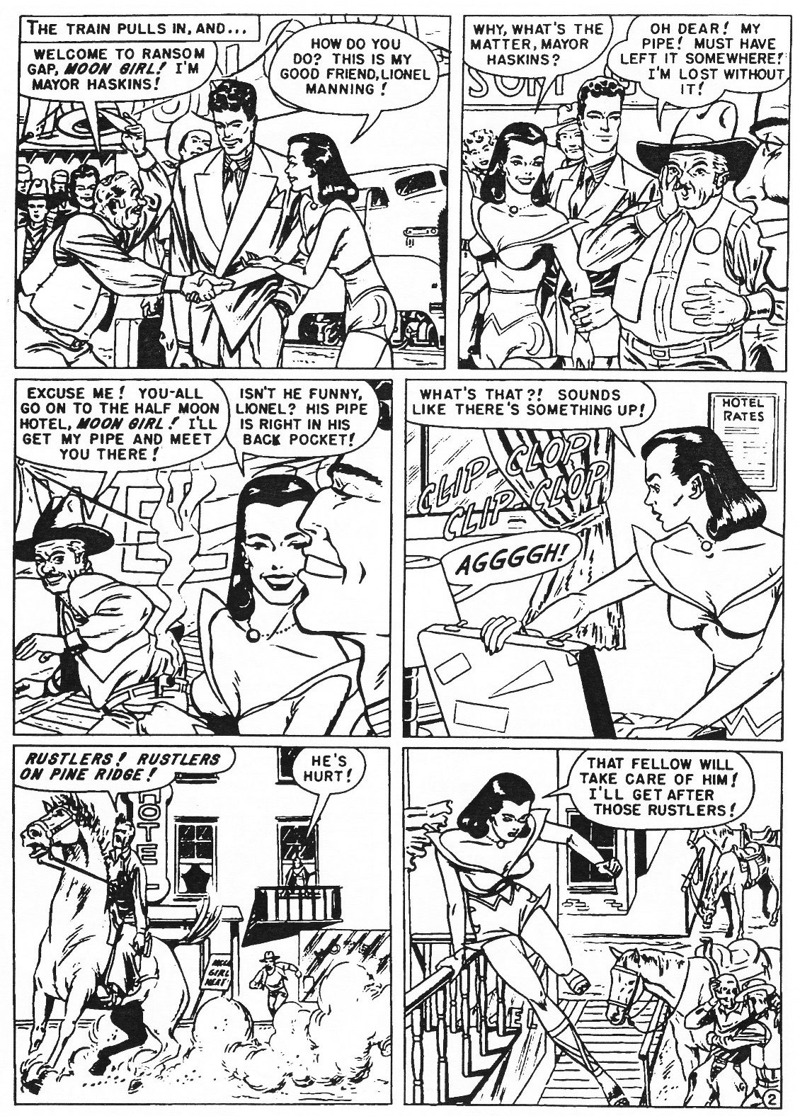 Read online Men of Mystery Comics comic -  Issue #82 - 36