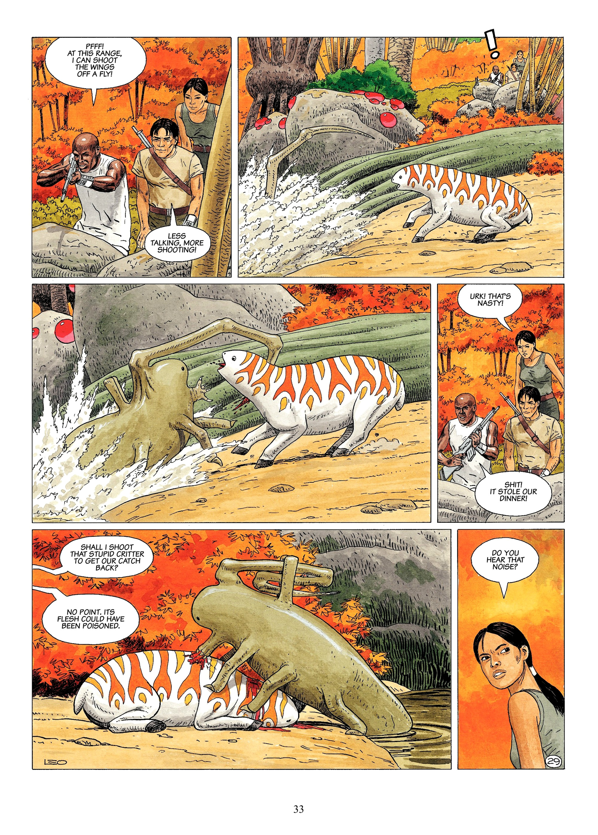 Read online Antares comic -  Issue #1 - 31