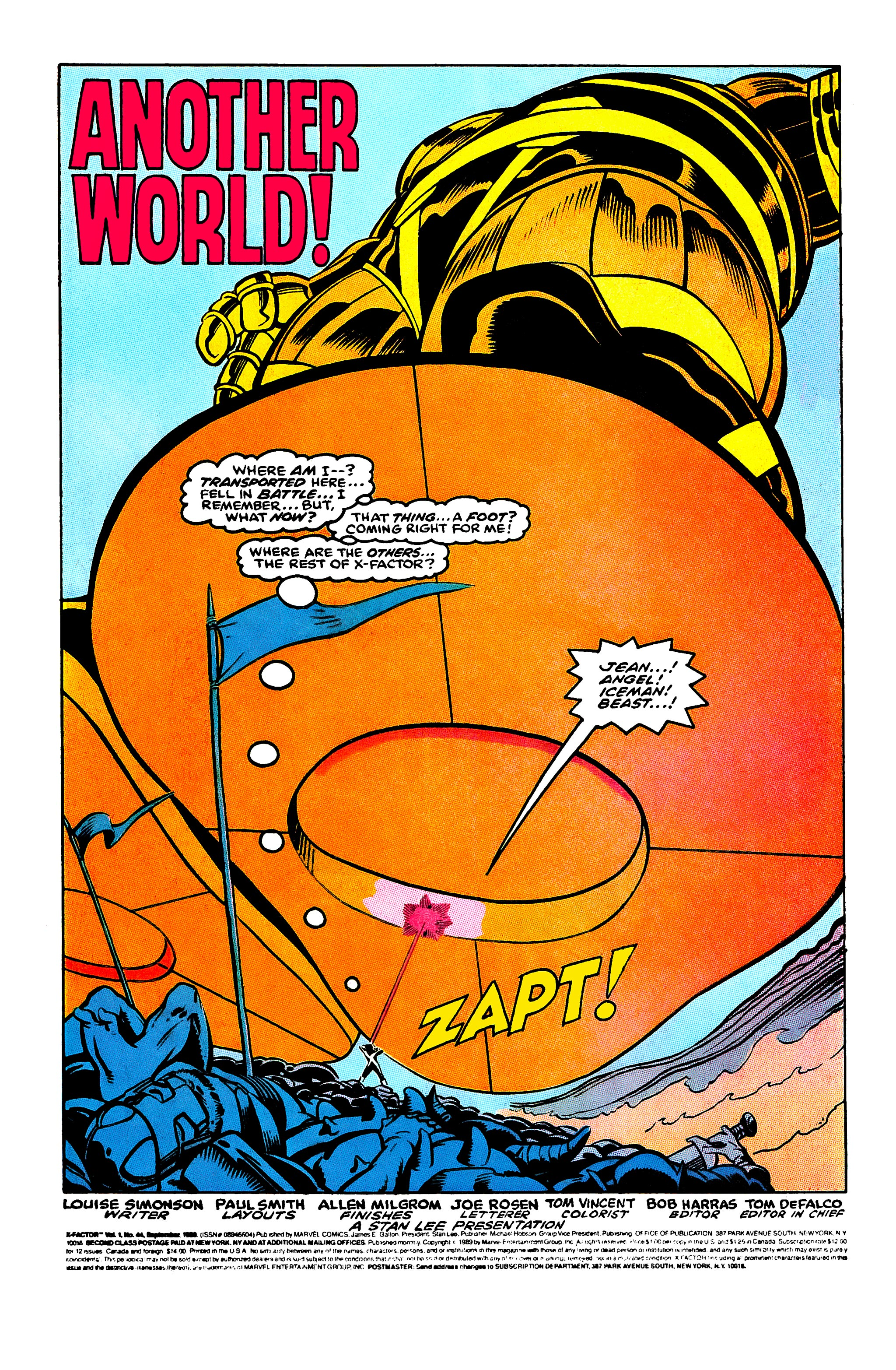 Read online X-Factor (1986) comic -  Issue #44 - 2