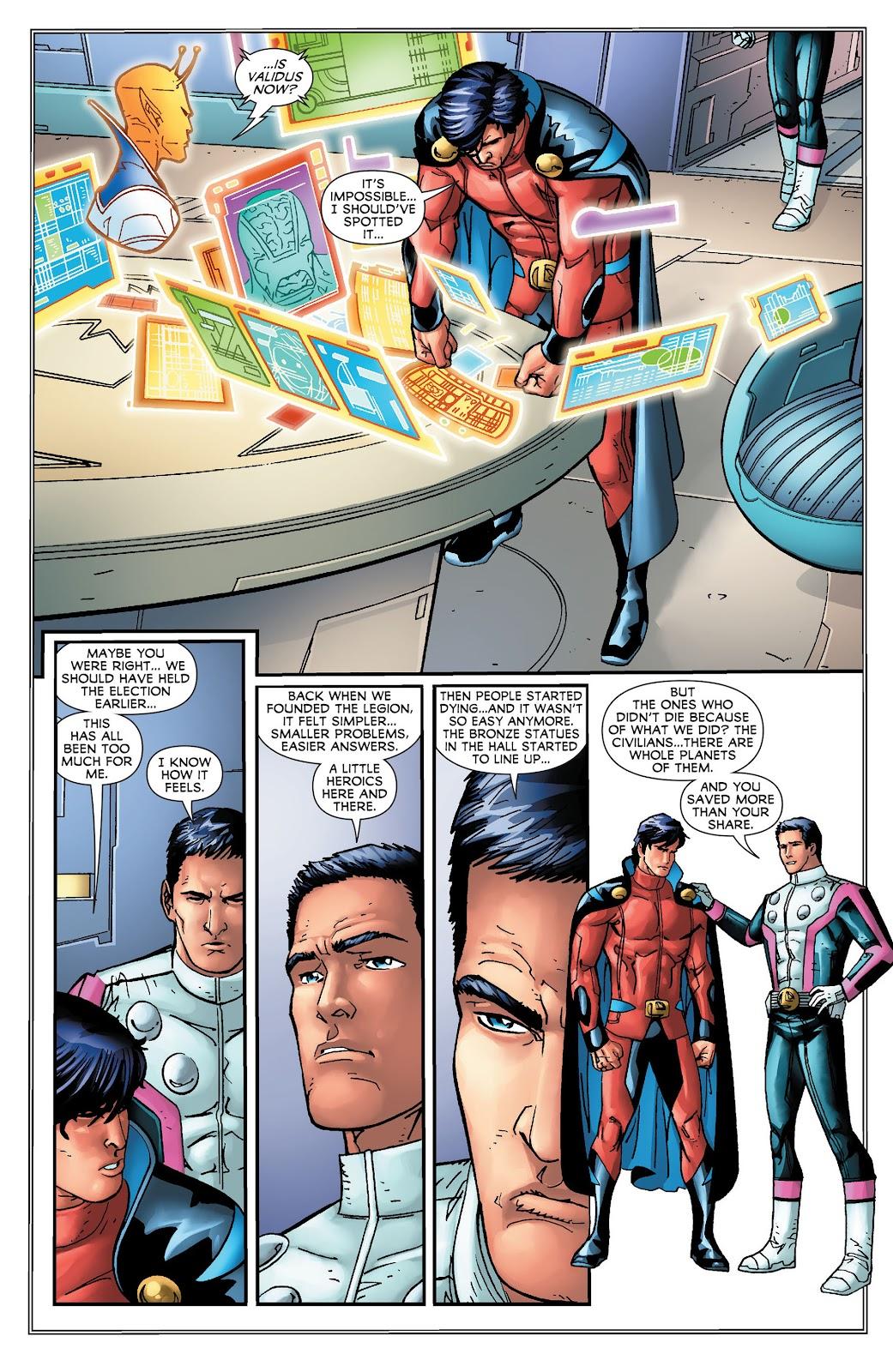 Legion of Super-Heroes (2011) Issue #16 #17 - English 17
