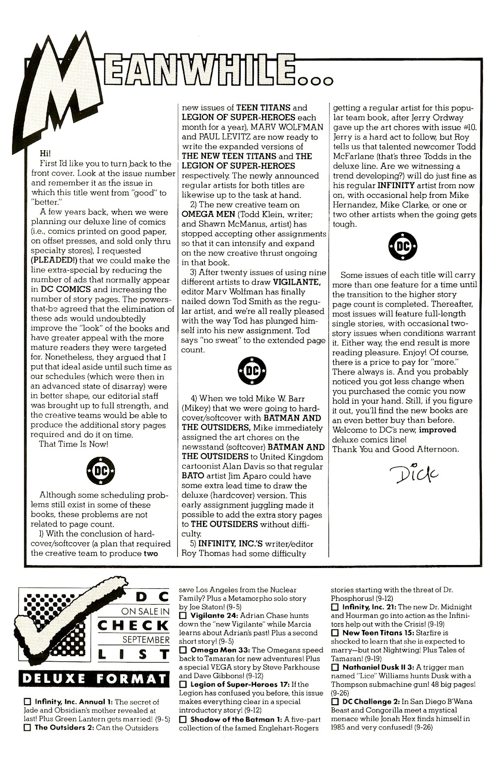 Infinity Inc. (1984) issue 21 - Page 2