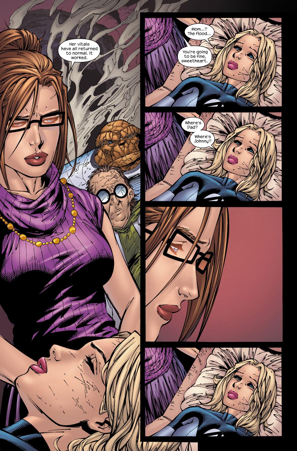 Read online Ultimate Fantastic Four (2004) comic -  Issue #59 - 20