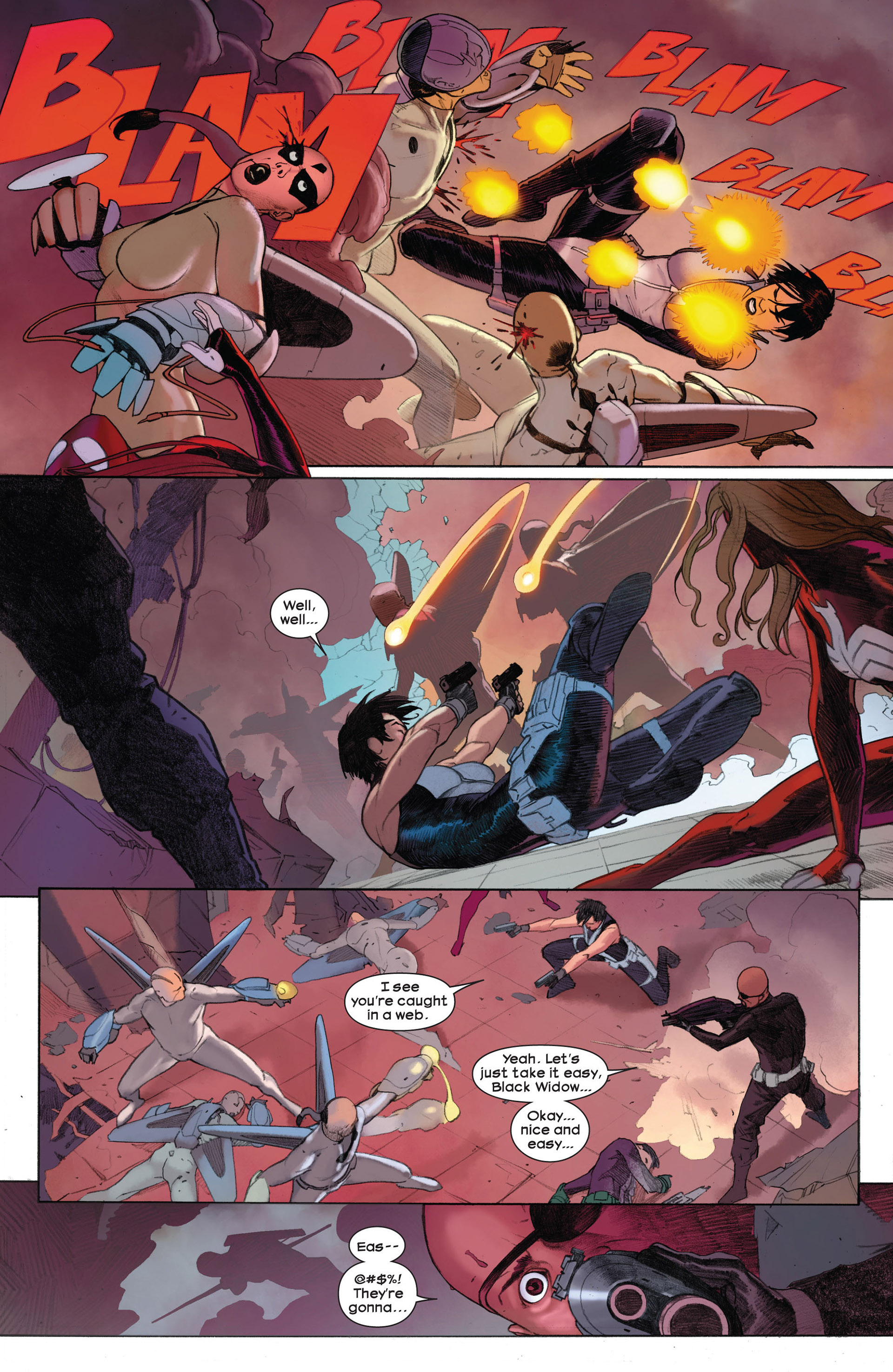 Read online Ultimate Comics Ultimates comic -  Issue #3 - 12