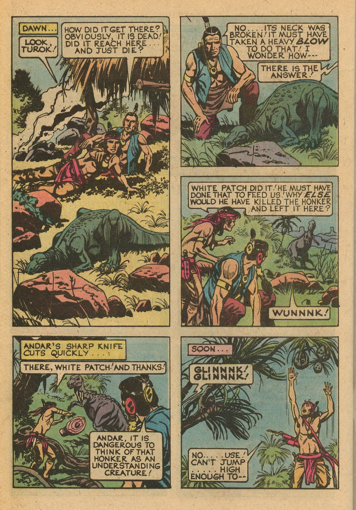 Read online Turok, Son of Stone comic -  Issue #115 - 44