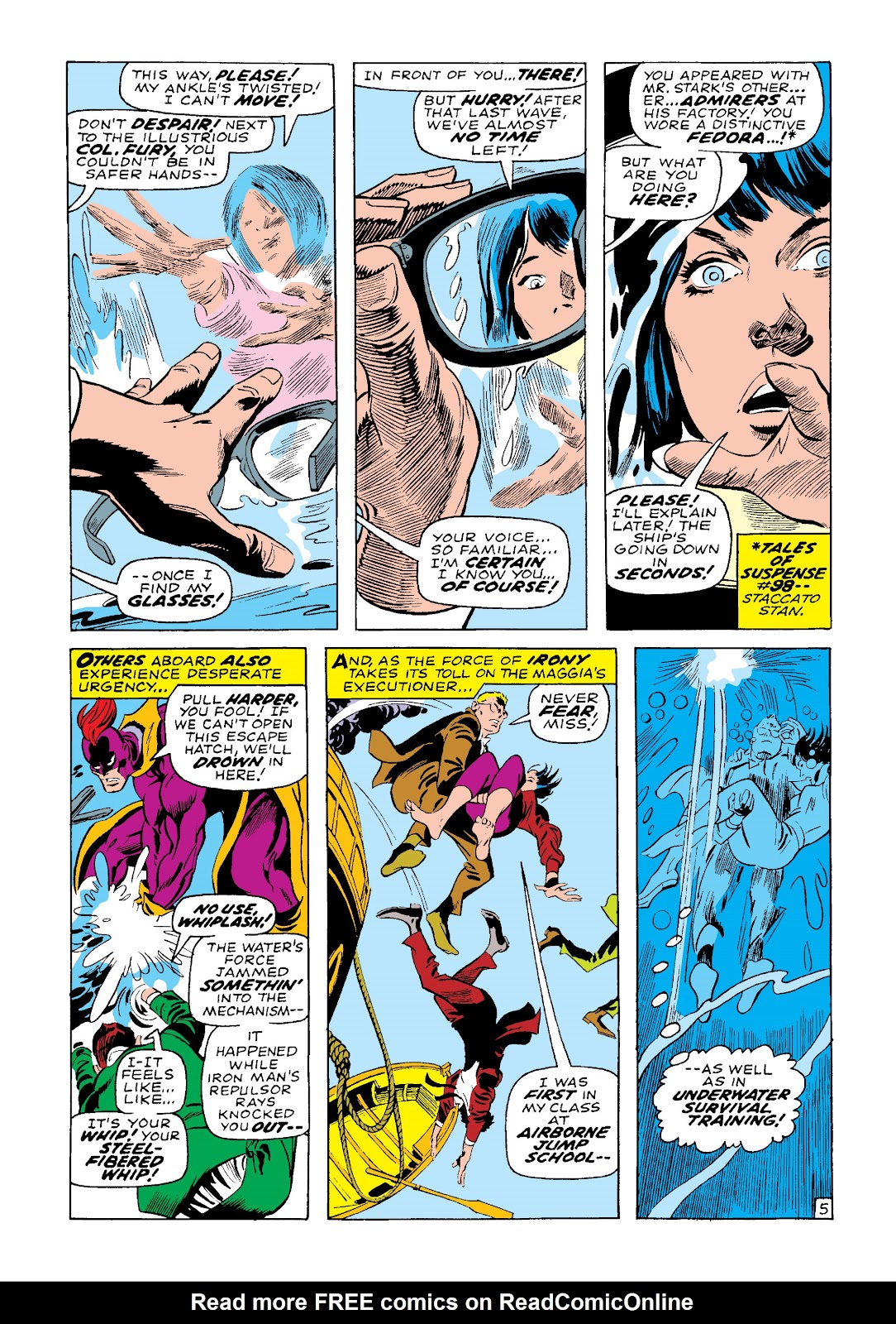 Read online Marvel Masterworks: The Invincible Iron Man comic -  Issue # TPB 4 (Part 3) - 29