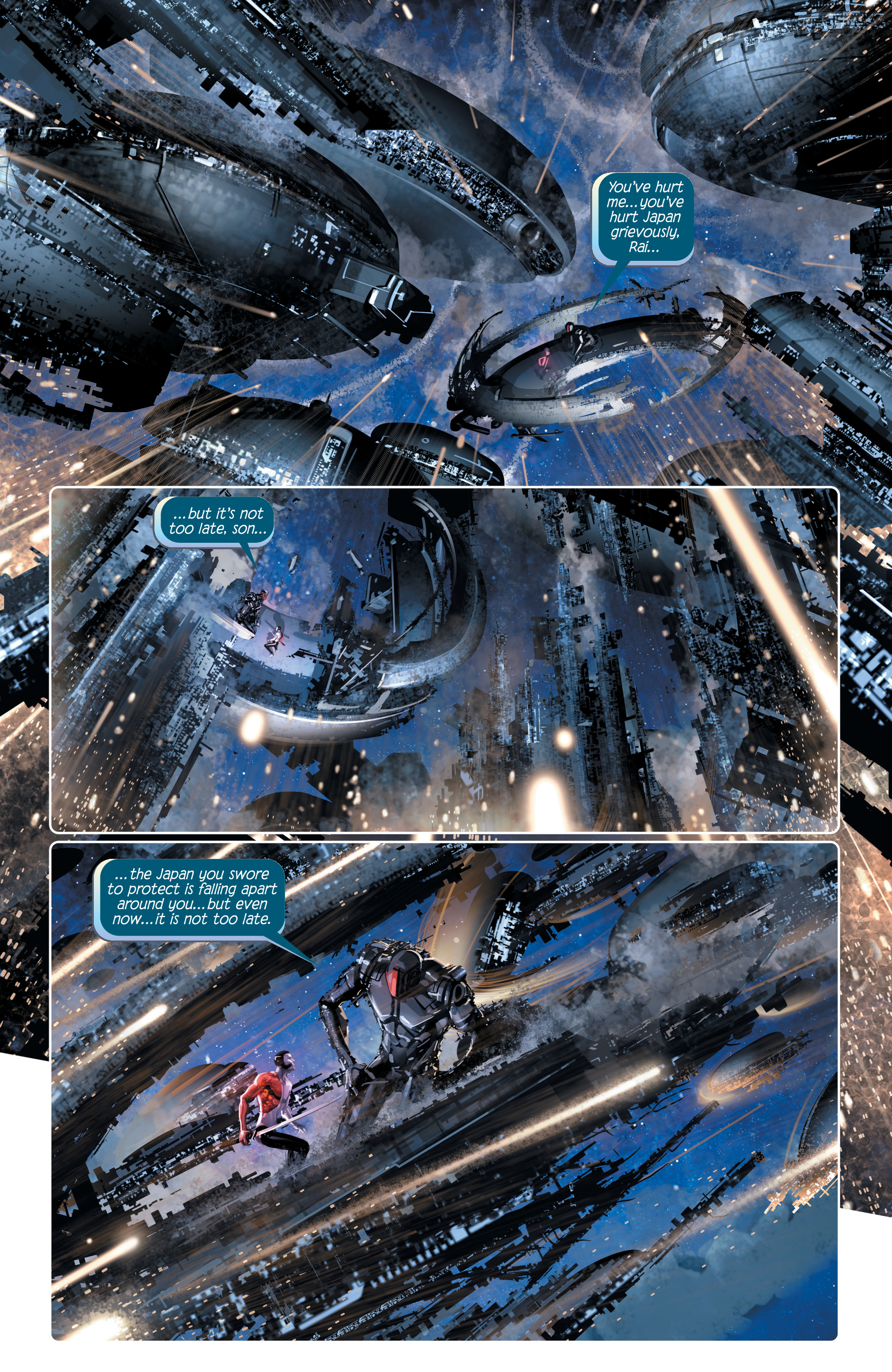 Read online 4001 A.D. comic -  Issue #4 - 5